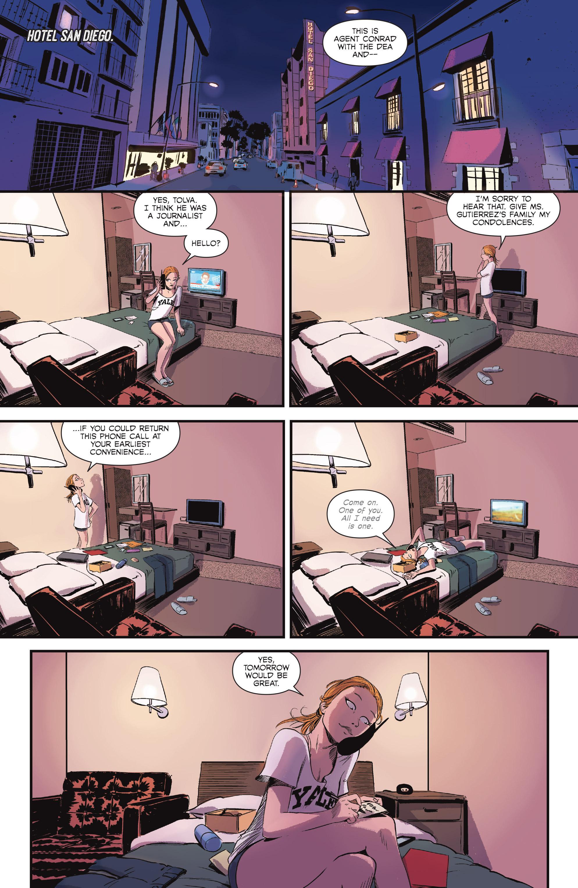 Read online Sombra comic -  Issue #1 - 16