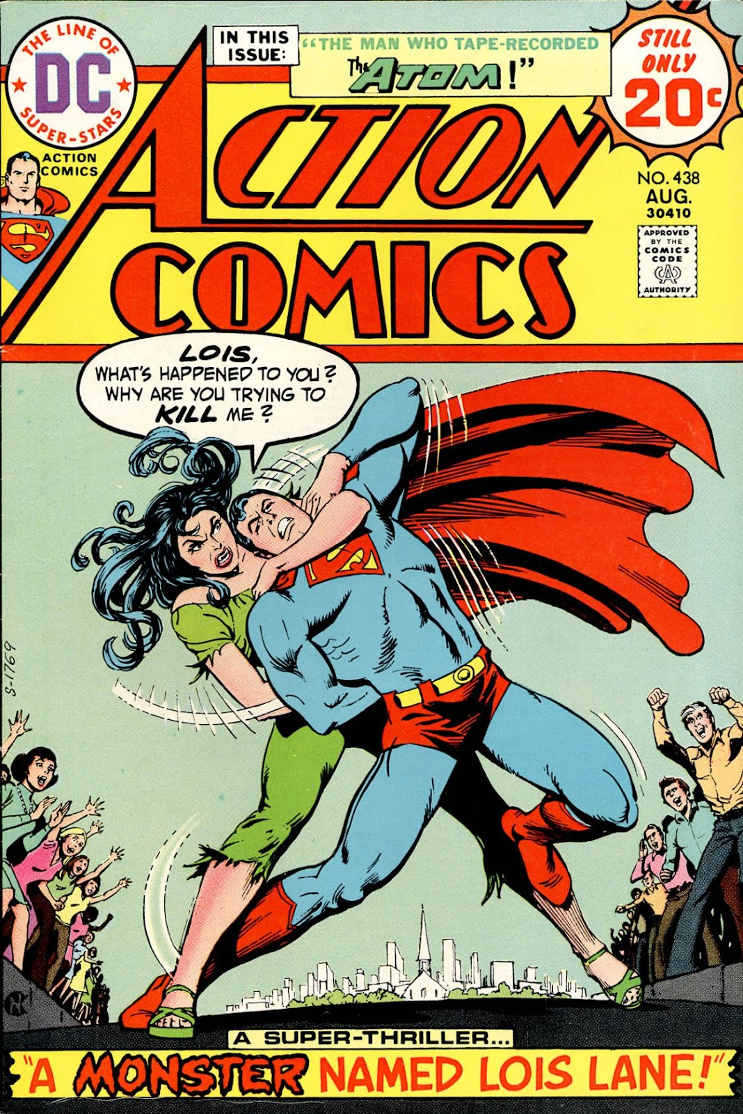 Action Comics (1938) 438 Page 1