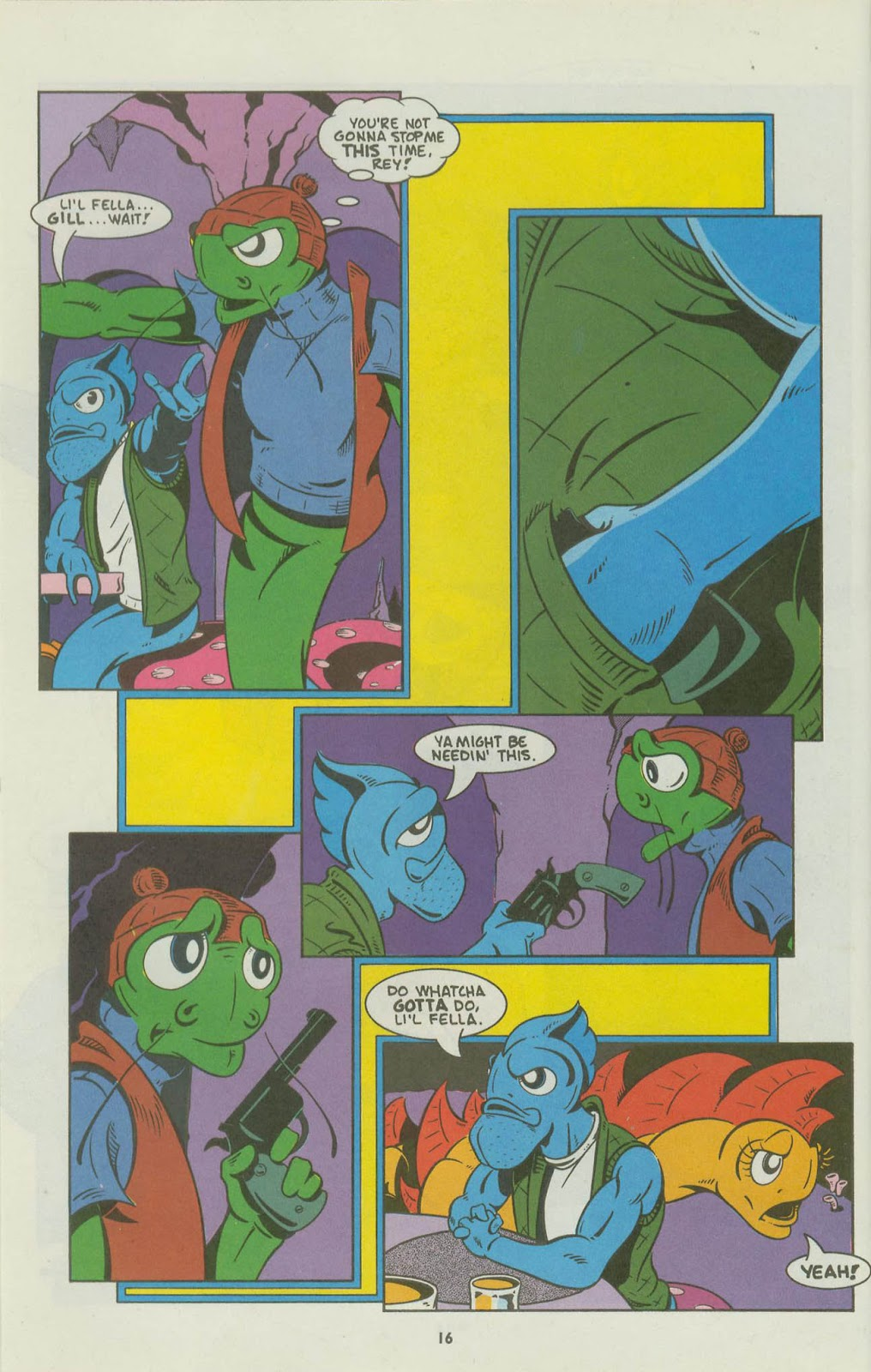 The Fish Police issue 16 - Page 18