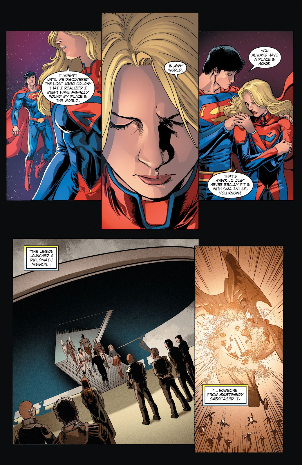 Read online Smallville Season 11 [II] comic -  Issue # TPB 4 - 41