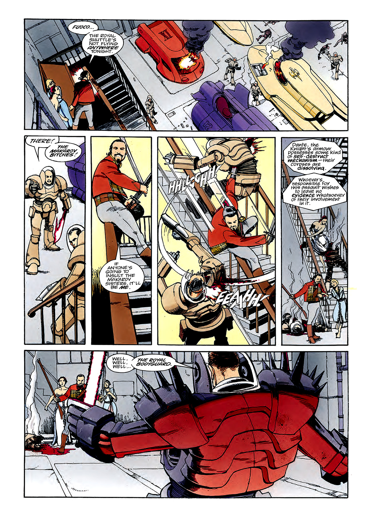 Read online Nikolai Dante comic -  Issue # TPB 3 - 77