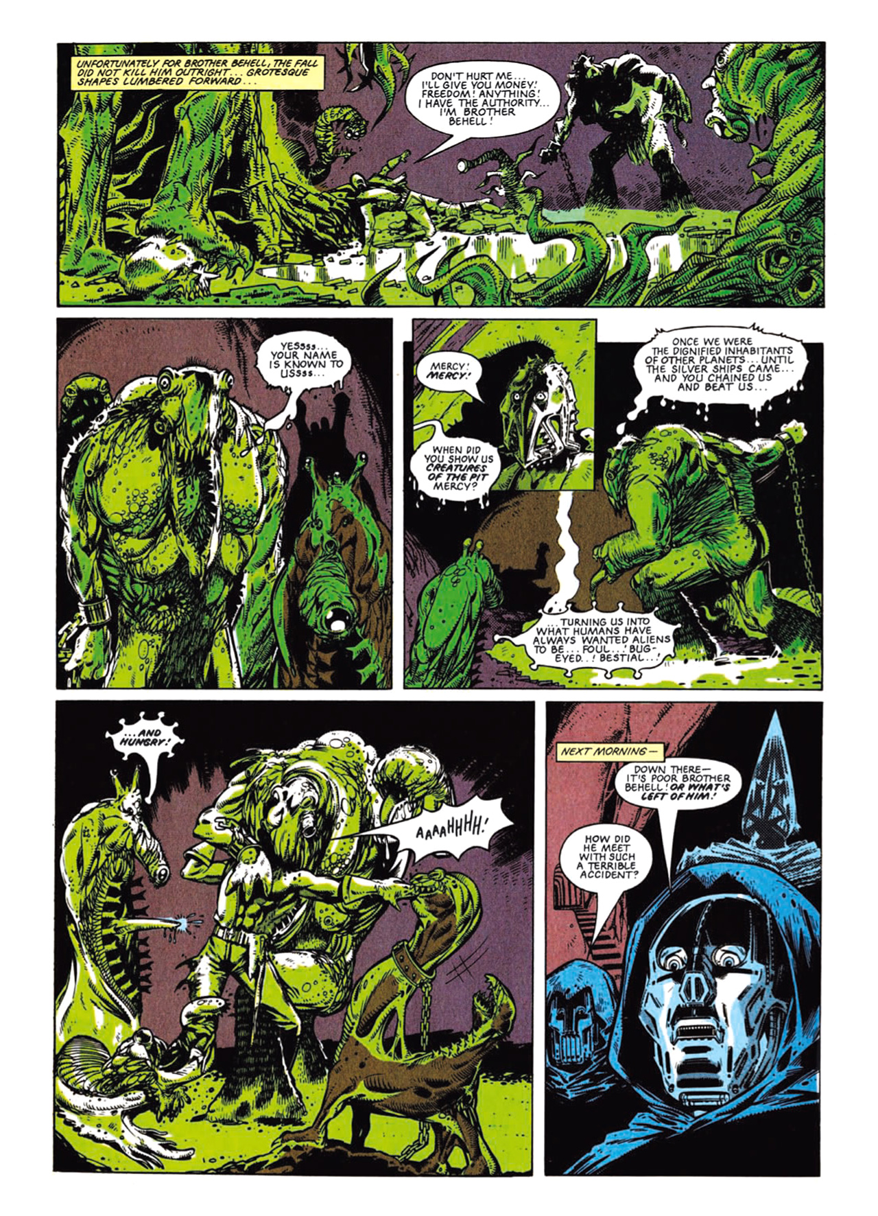Read online Nemesis The Warlock comic -  Issue # TPB Deviant Edition - 26