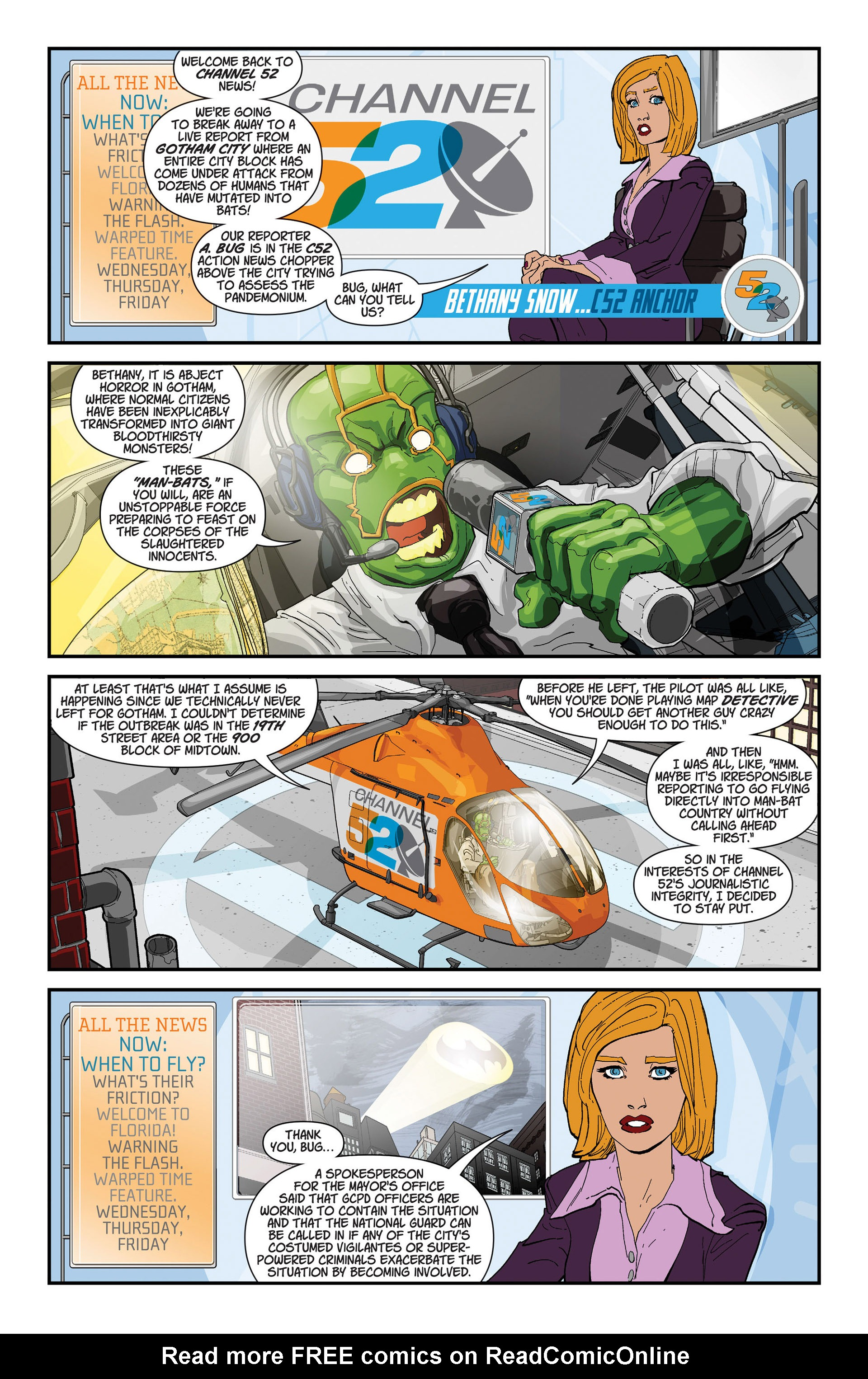 Read online Animal Man (2011) comic -  Issue #19 - 23