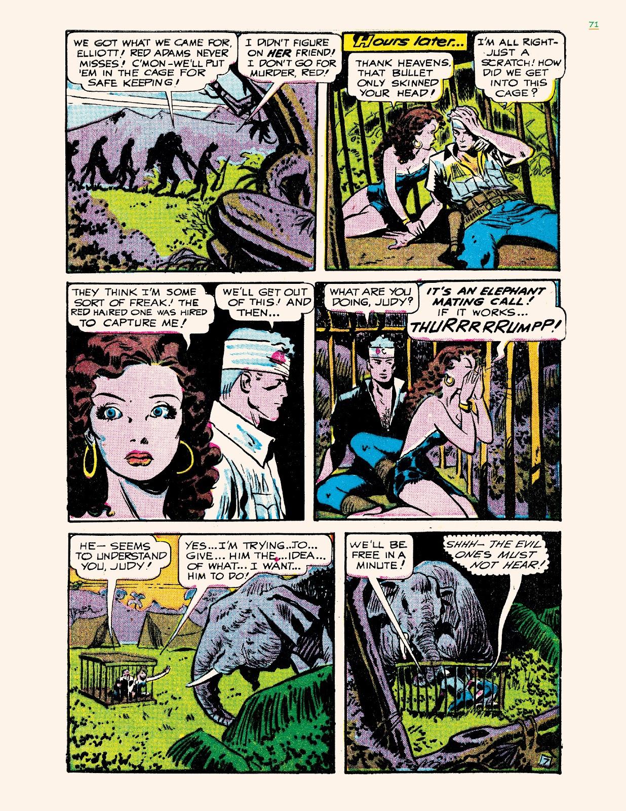 Read online Jungle Girls comic -  Issue # TPB (Part 1) - 71