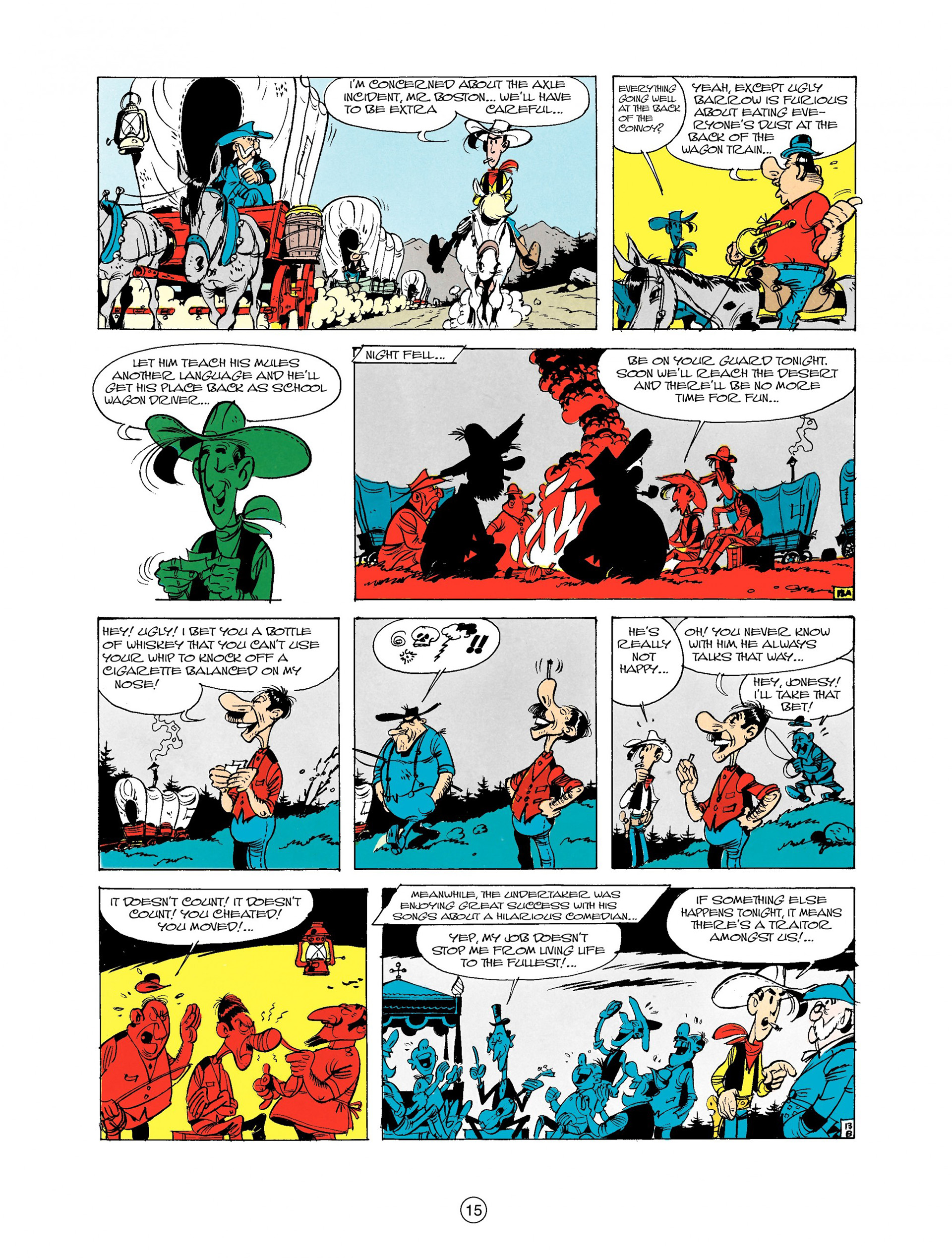 Read online A Lucky Luke Adventure comic -  Issue #9 - 15