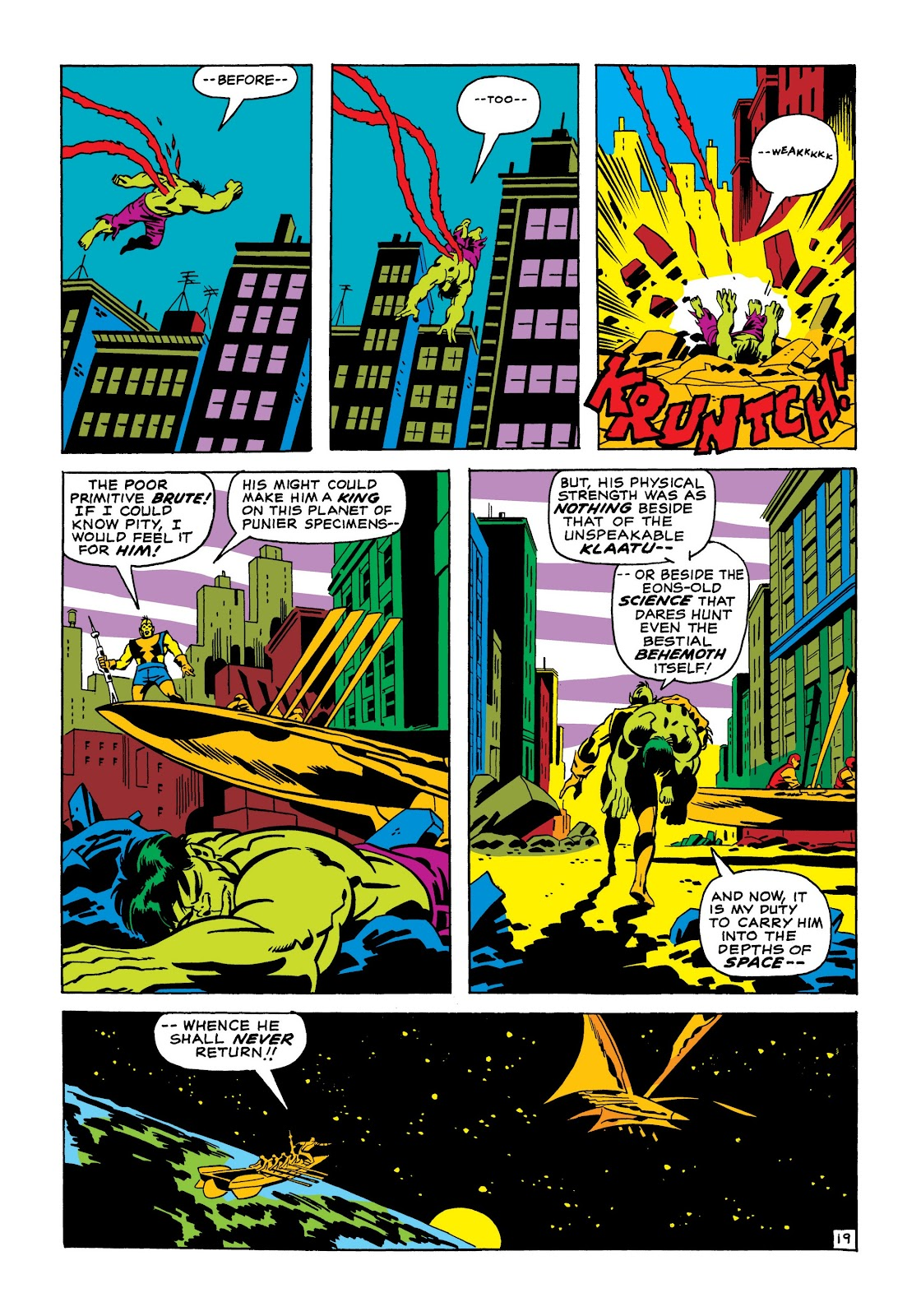 Read online Marvel Masterworks: The Incredible Hulk comic -  Issue # TPB 7 (Part 1) - 45