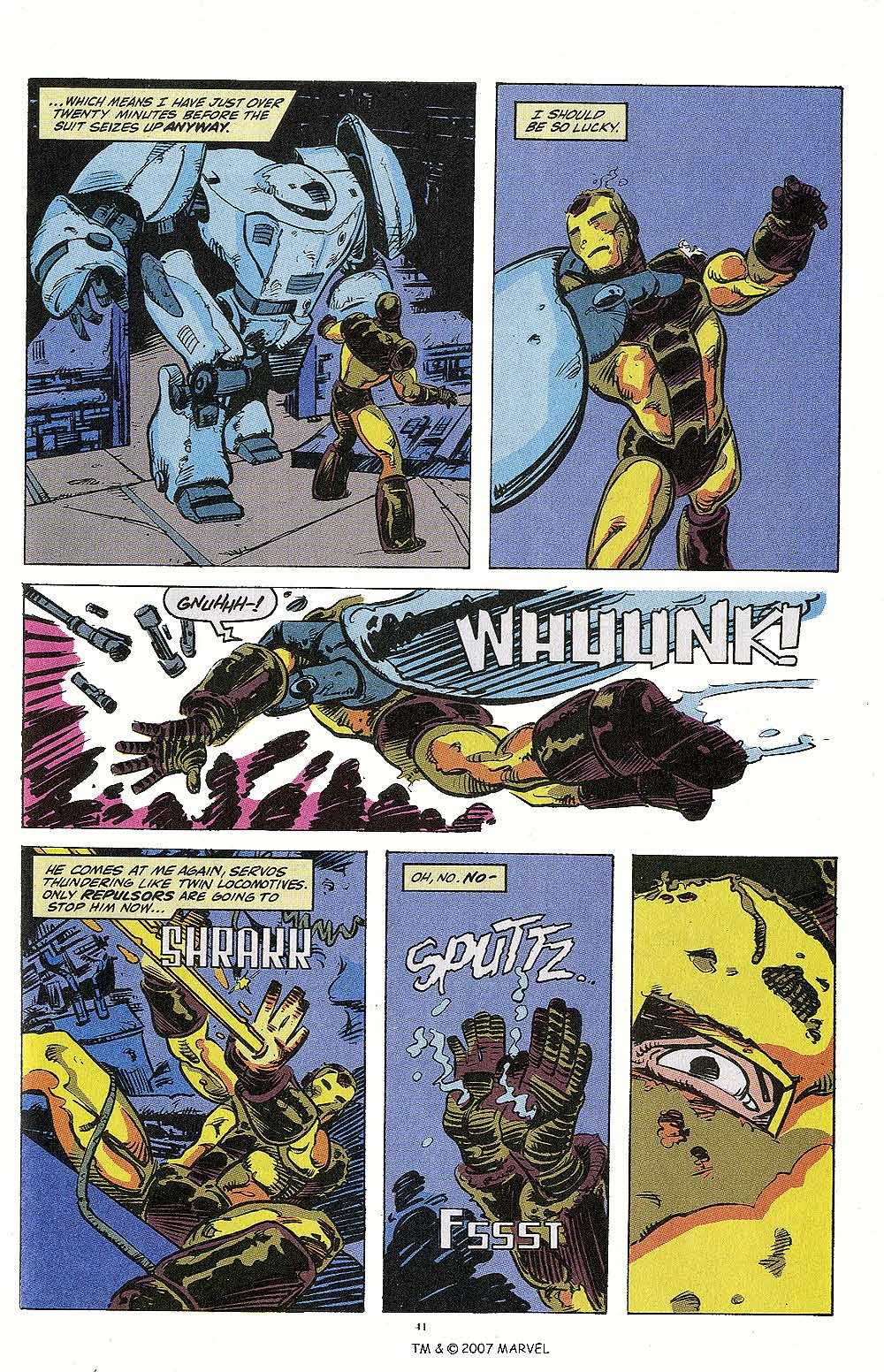 Iron Man Annual issue 13 - Page 43