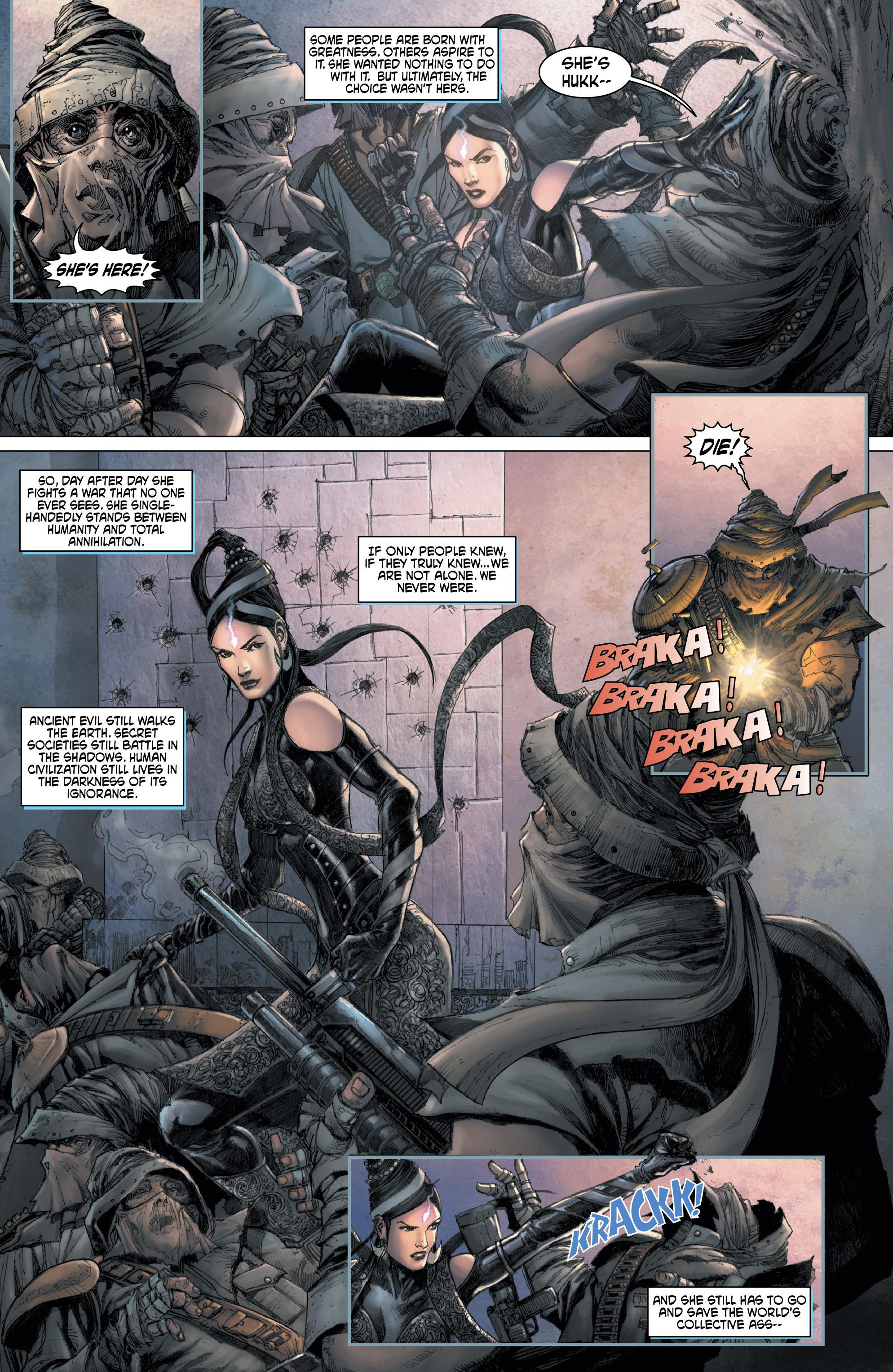 Read online Shekhar Kapur's Devi: Rebirth comic -  Issue #1 - 28