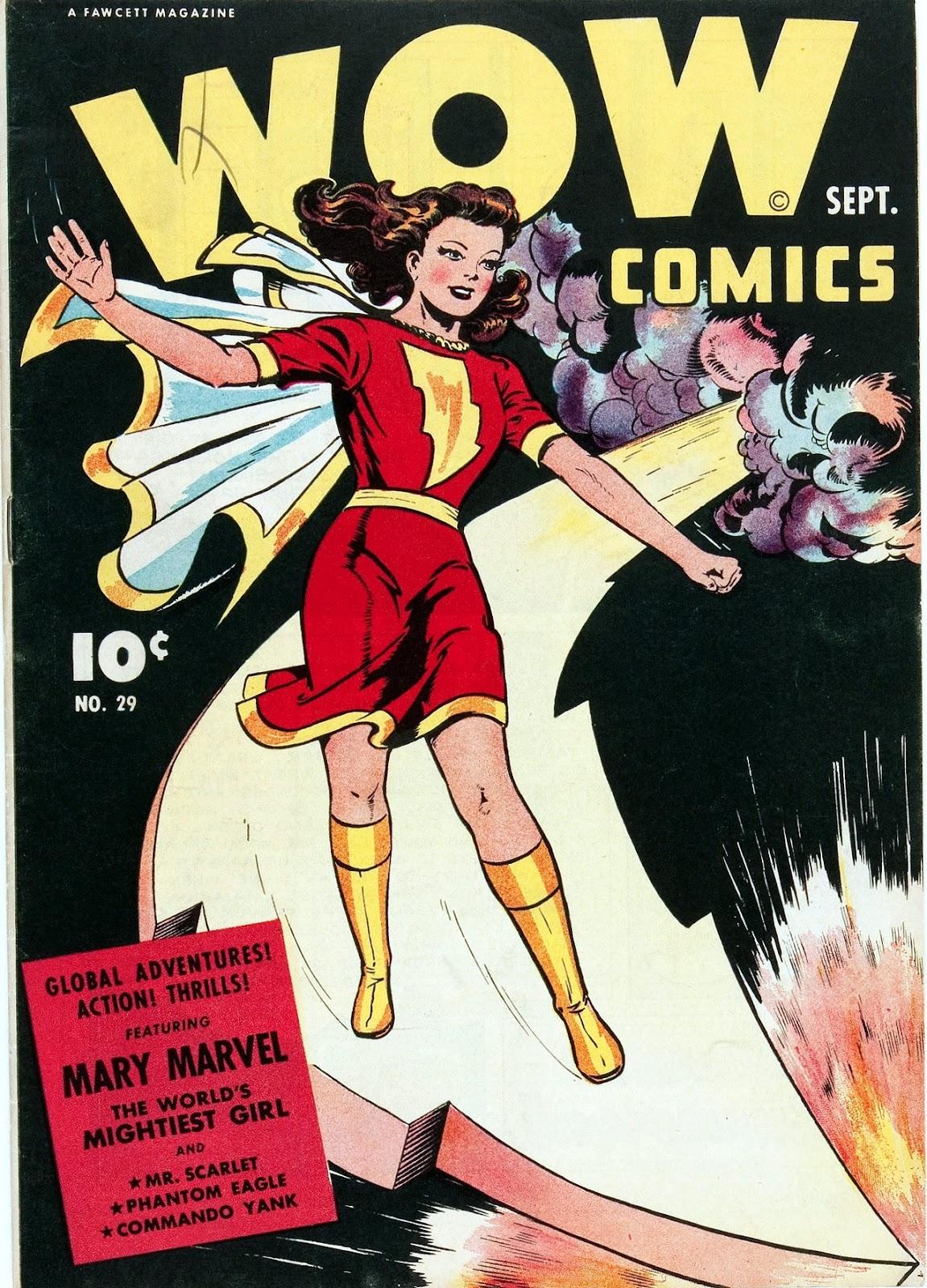 Wow Comics 29 Page 1