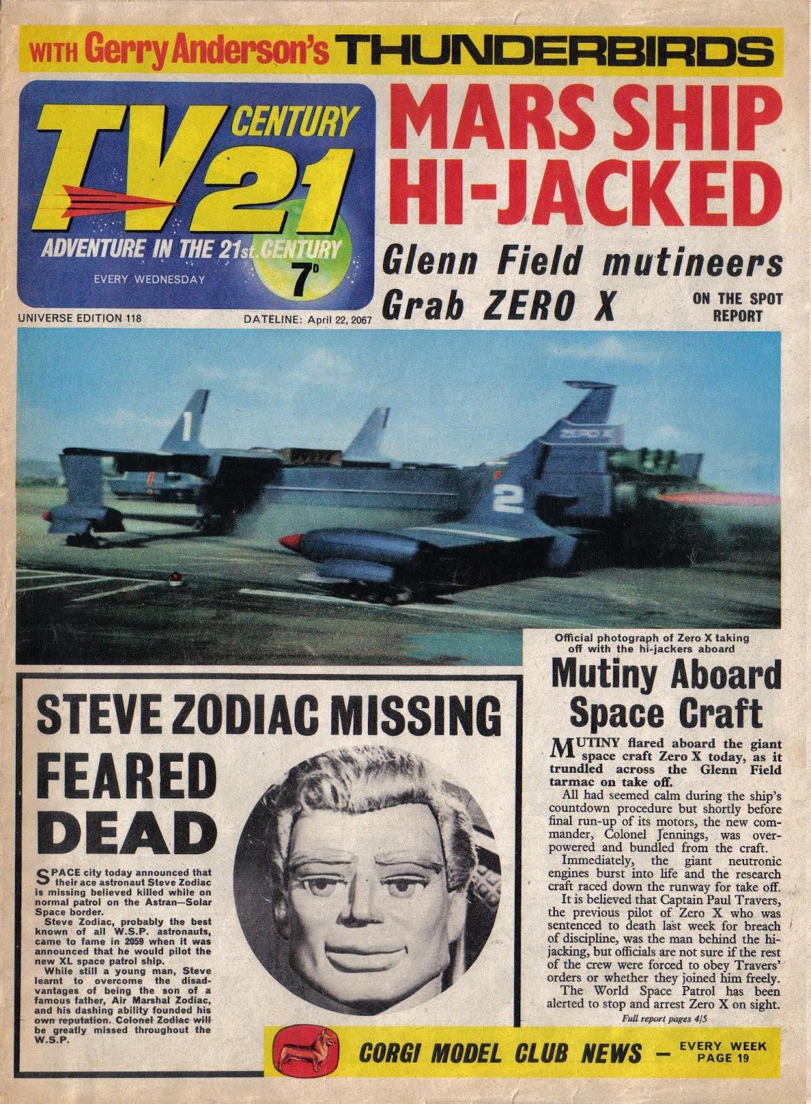 TV Century 21 (TV 21) 118 Page 1