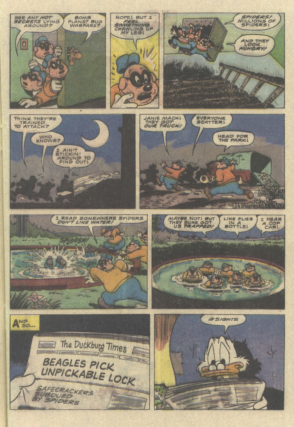 Read online Uncle Scrooge (1953) comic -  Issue #241 - 29