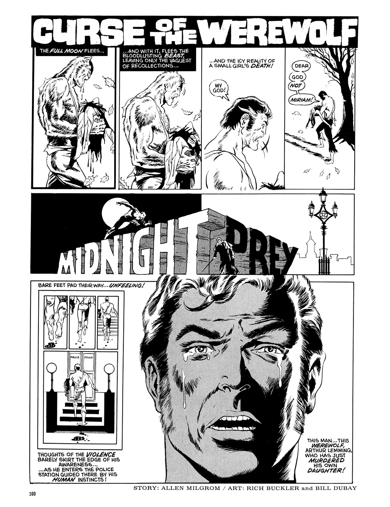 Read online Eerie Archives comic -  Issue # TPB 10 - 161
