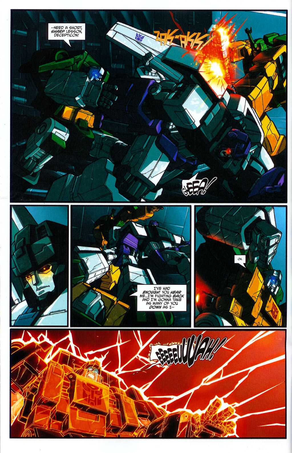 """Read online Transformers War Within: """"The Age of Wrath"""" comic -  Issue #2 - 13"""
