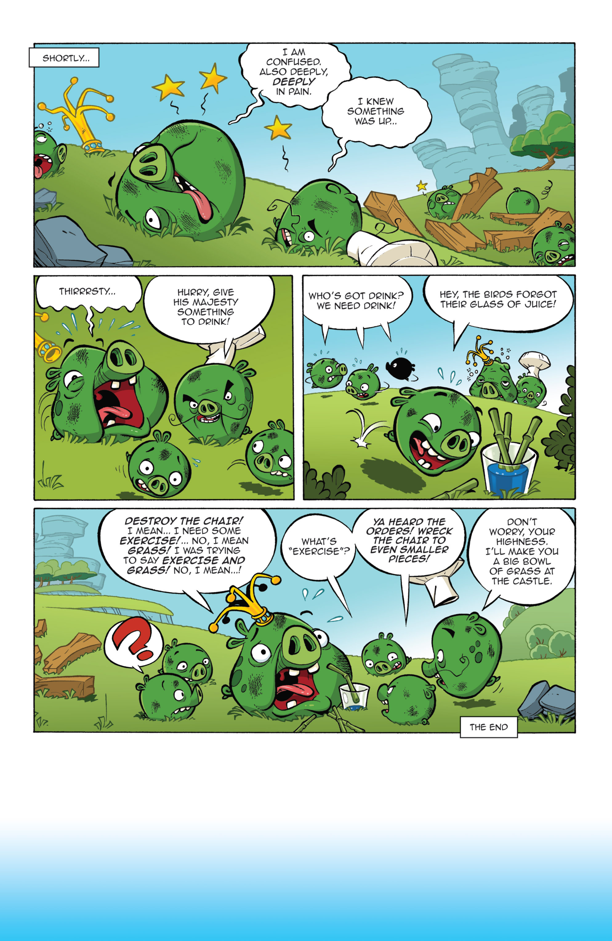 Read online Angry Birds Comics (2014) comic -  Issue #7 - 20