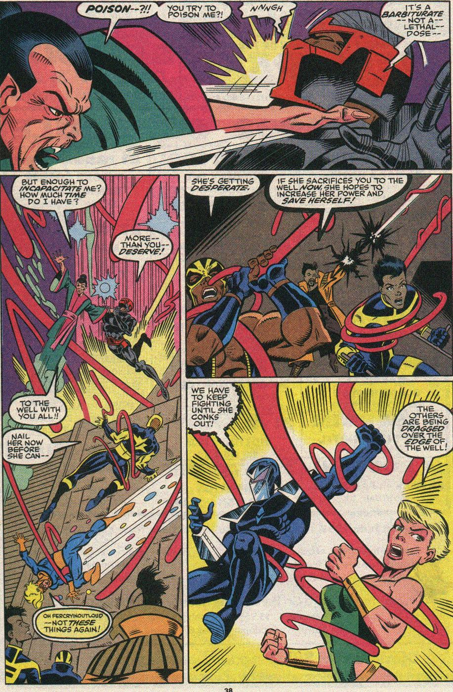 The New Warriors Issue #25 #29 - English 33
