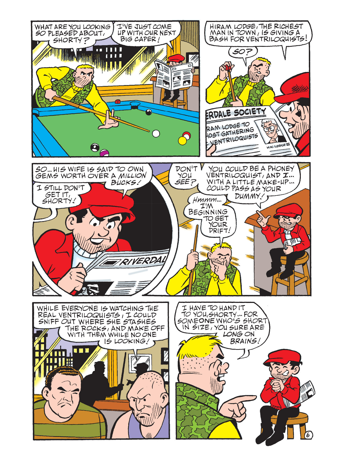 Read online Archie's Funhouse Double Digest comic -  Issue #3 - 70