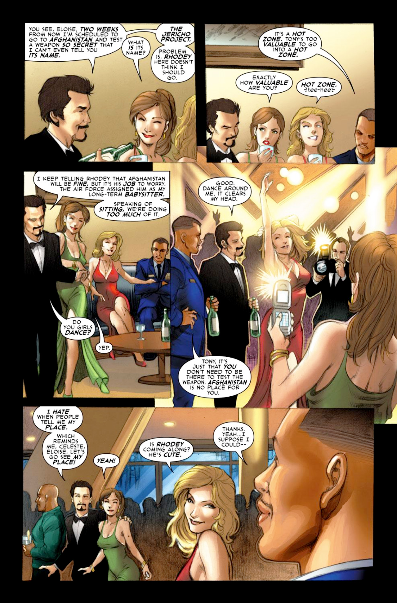 Read online Iron Man: Fast Friends comic -  Issue #1 - 5