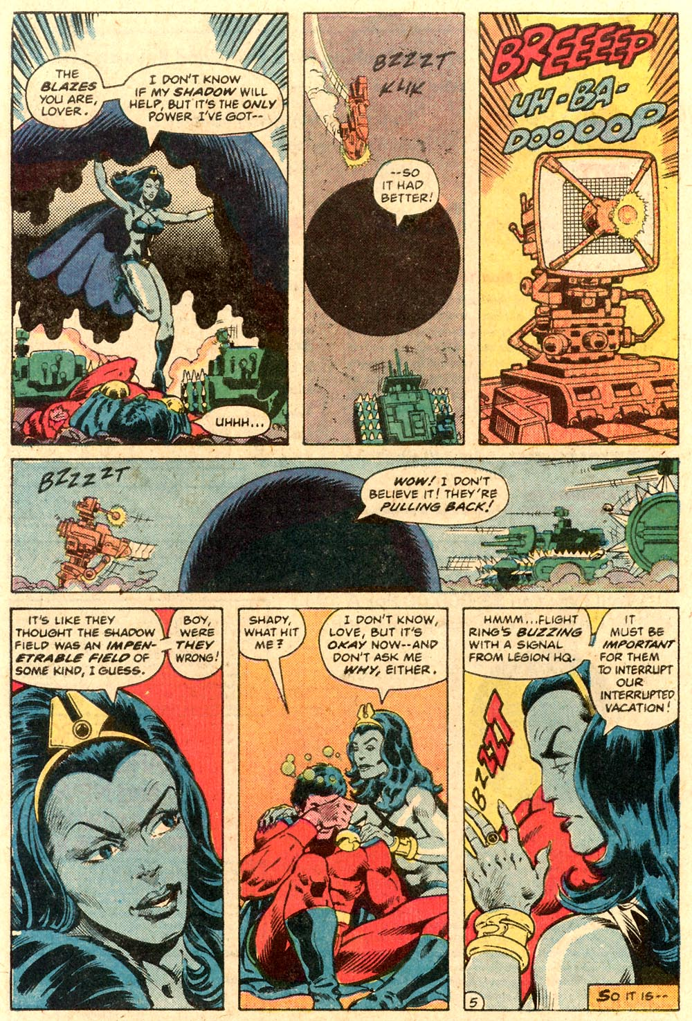 Legion of Super-Heroes (1980) 287 Page 23