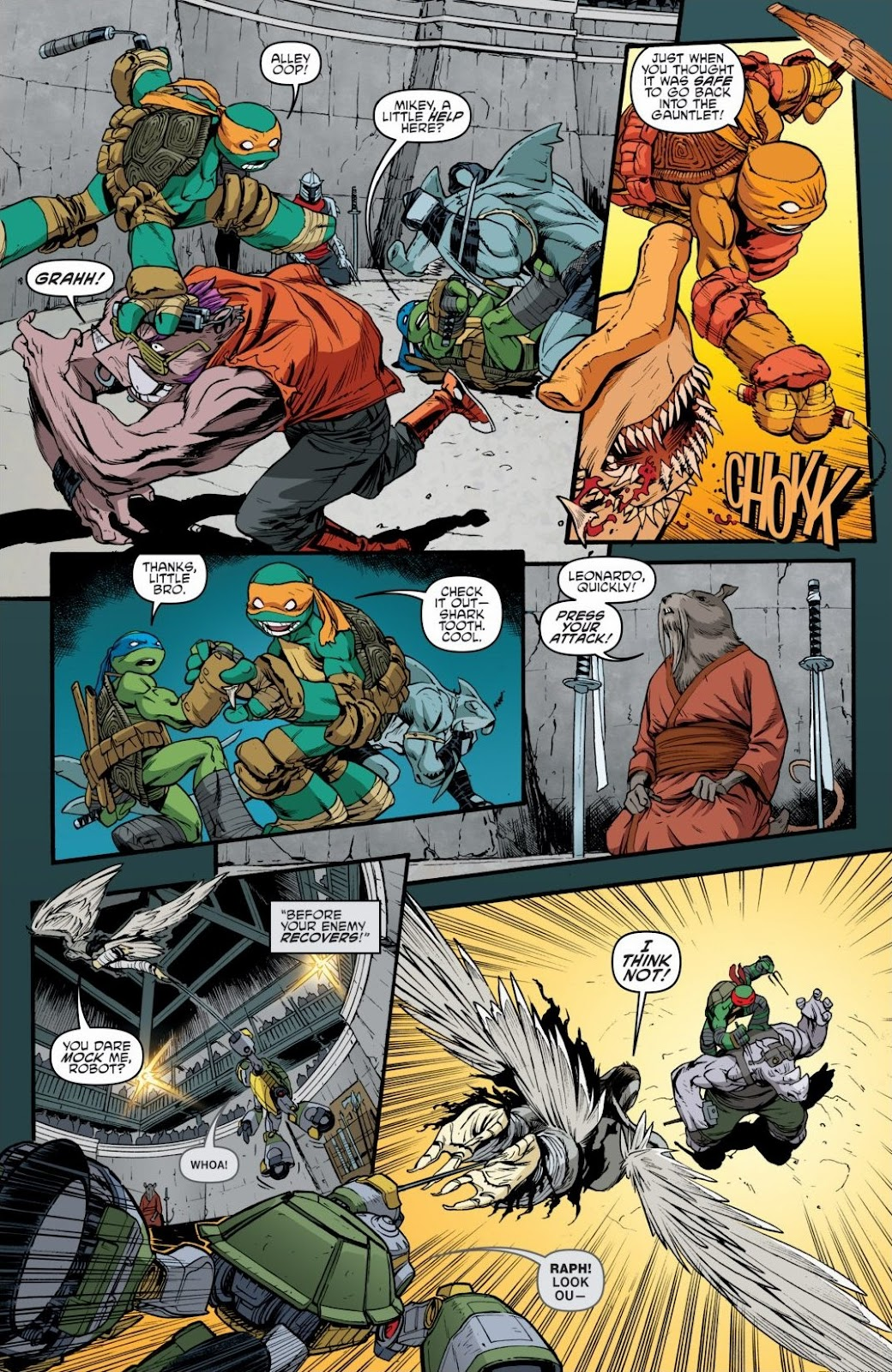 Read online Teenage Mutant Ninja Turtles: The IDW Collection comic -  Issue # TPB 6 (Part 3) - 33