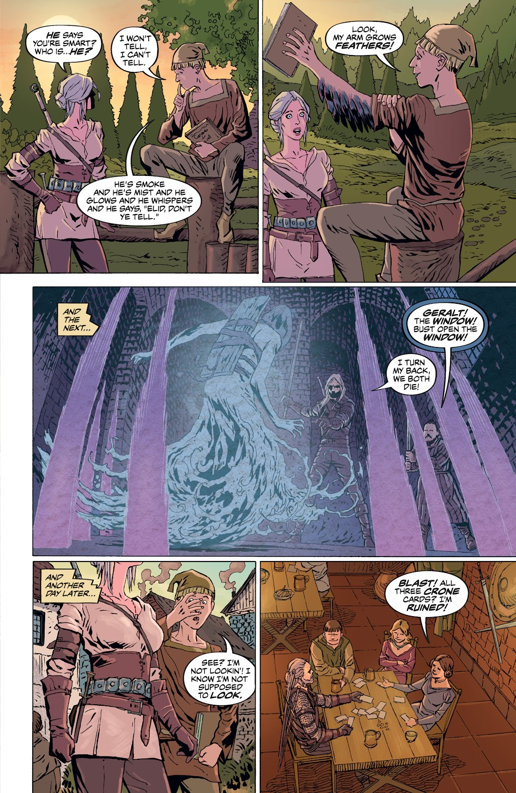 Read online The Witcher Omnibus comic -  Issue # TPB (Part 4) - 42