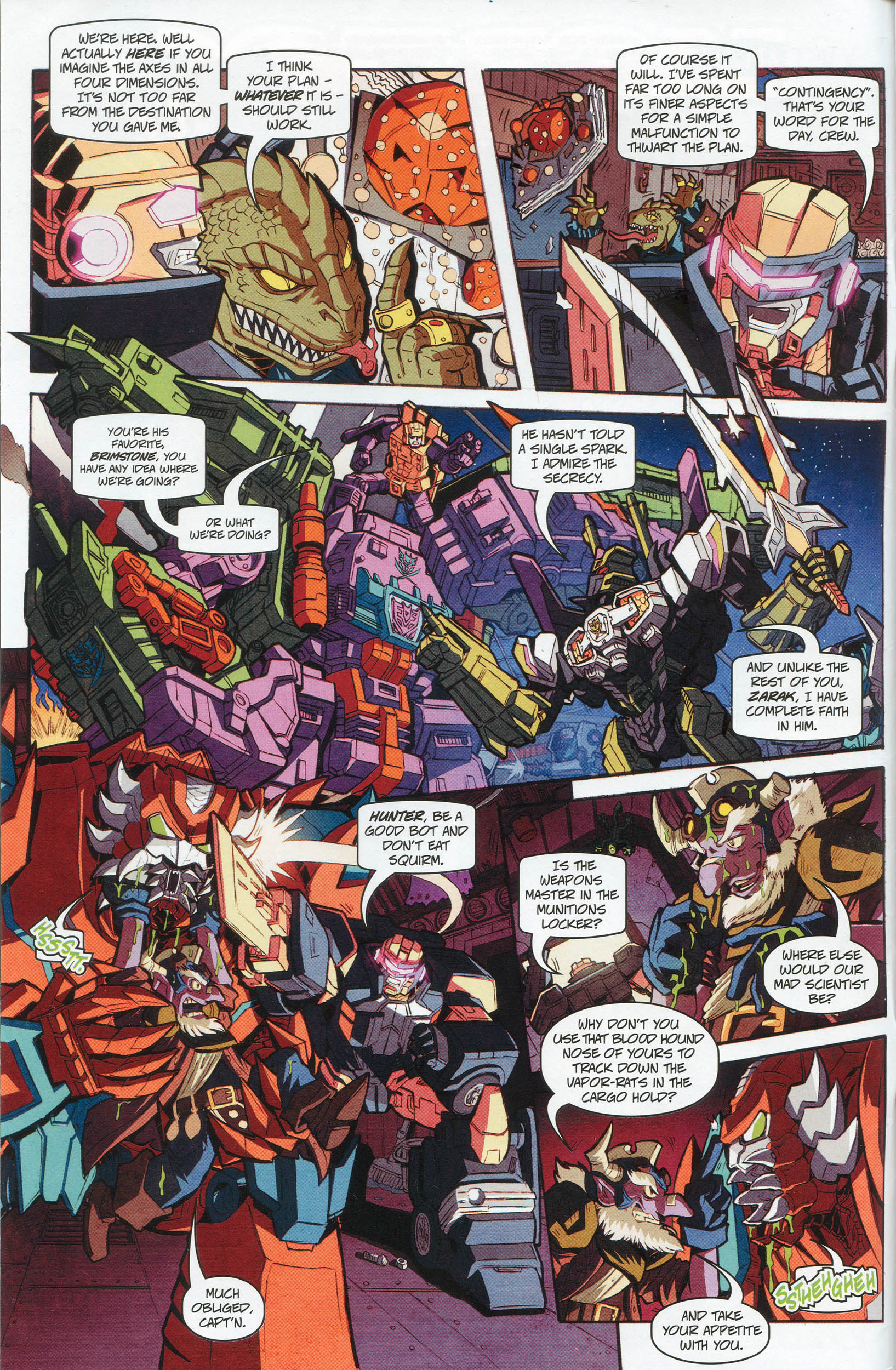 Read online Transformers: Timelines comic -  Issue #10 - 3