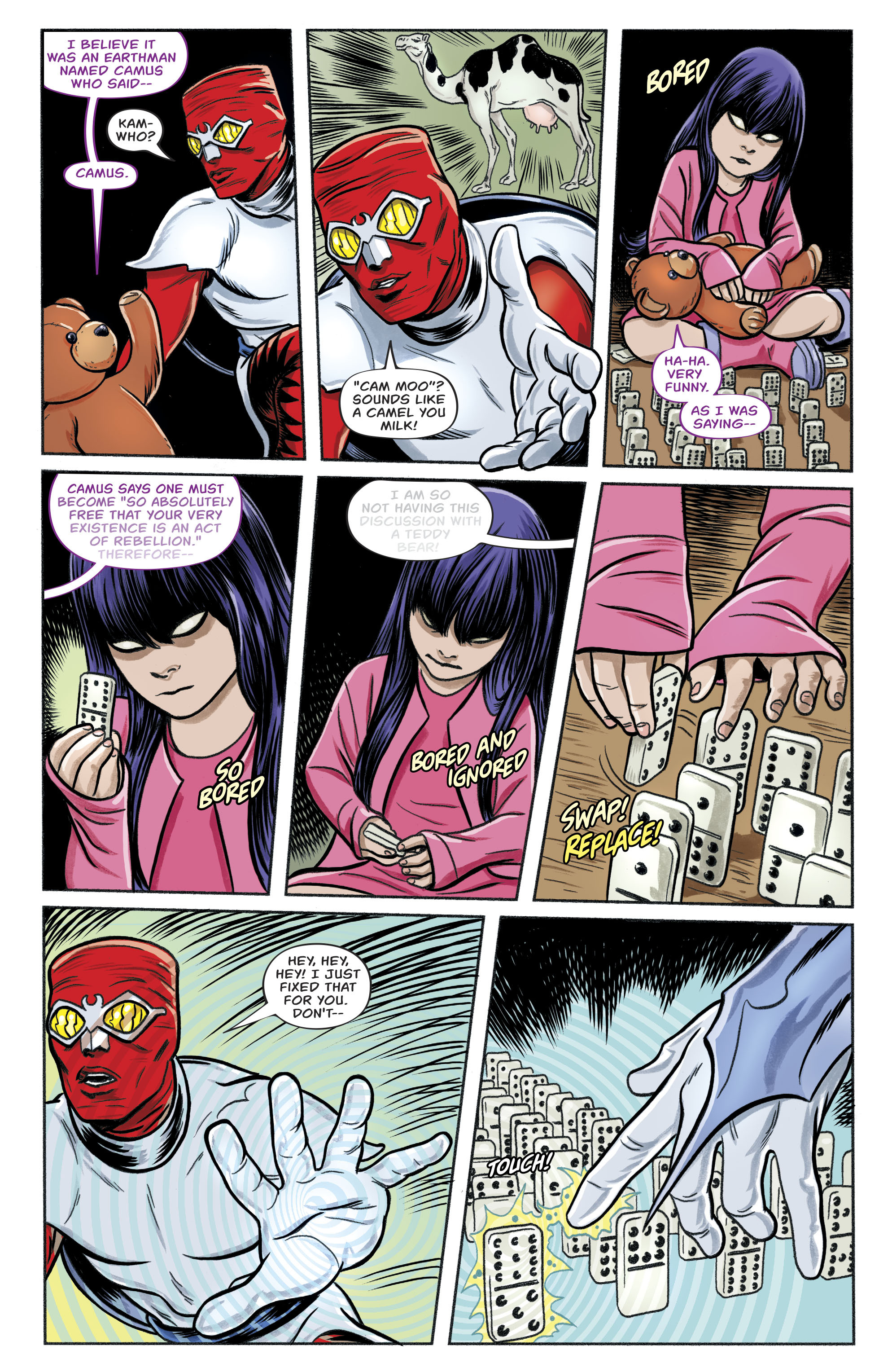 Read online Bug! The Adventures of Forager comic -  Issue #1 - 13