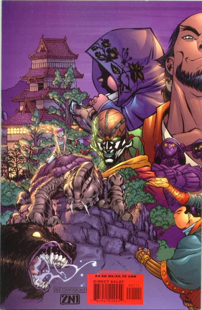 Read online Ninja Boy comic -  Issue #1 - 35