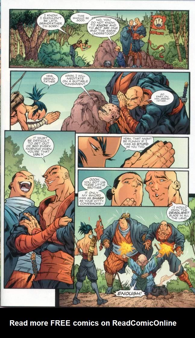 Read online Ninja Boy comic -  Issue #1 - 12