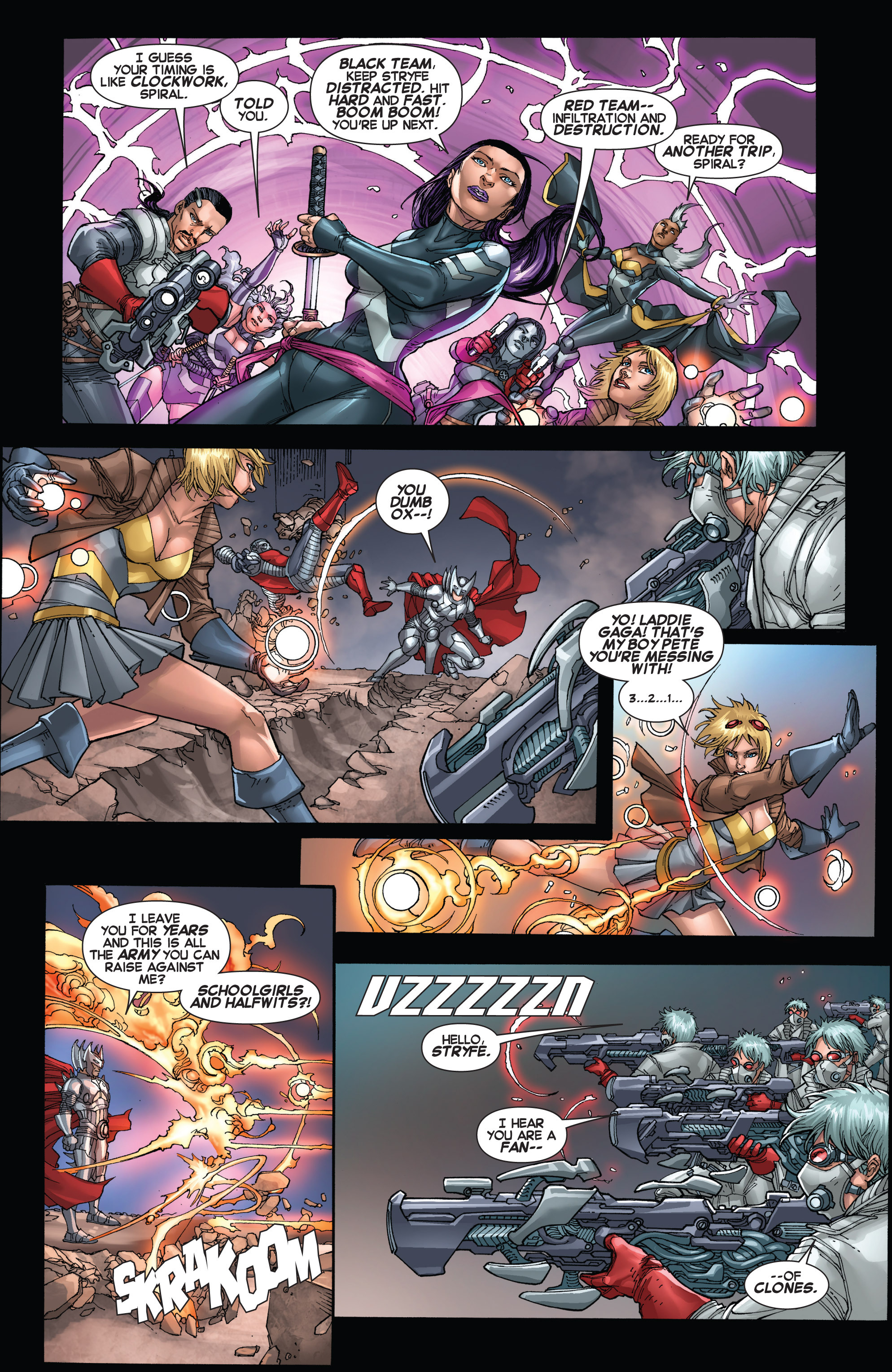 Read online Uncanny X-Force (2013) comic -  Issue #17 - 8