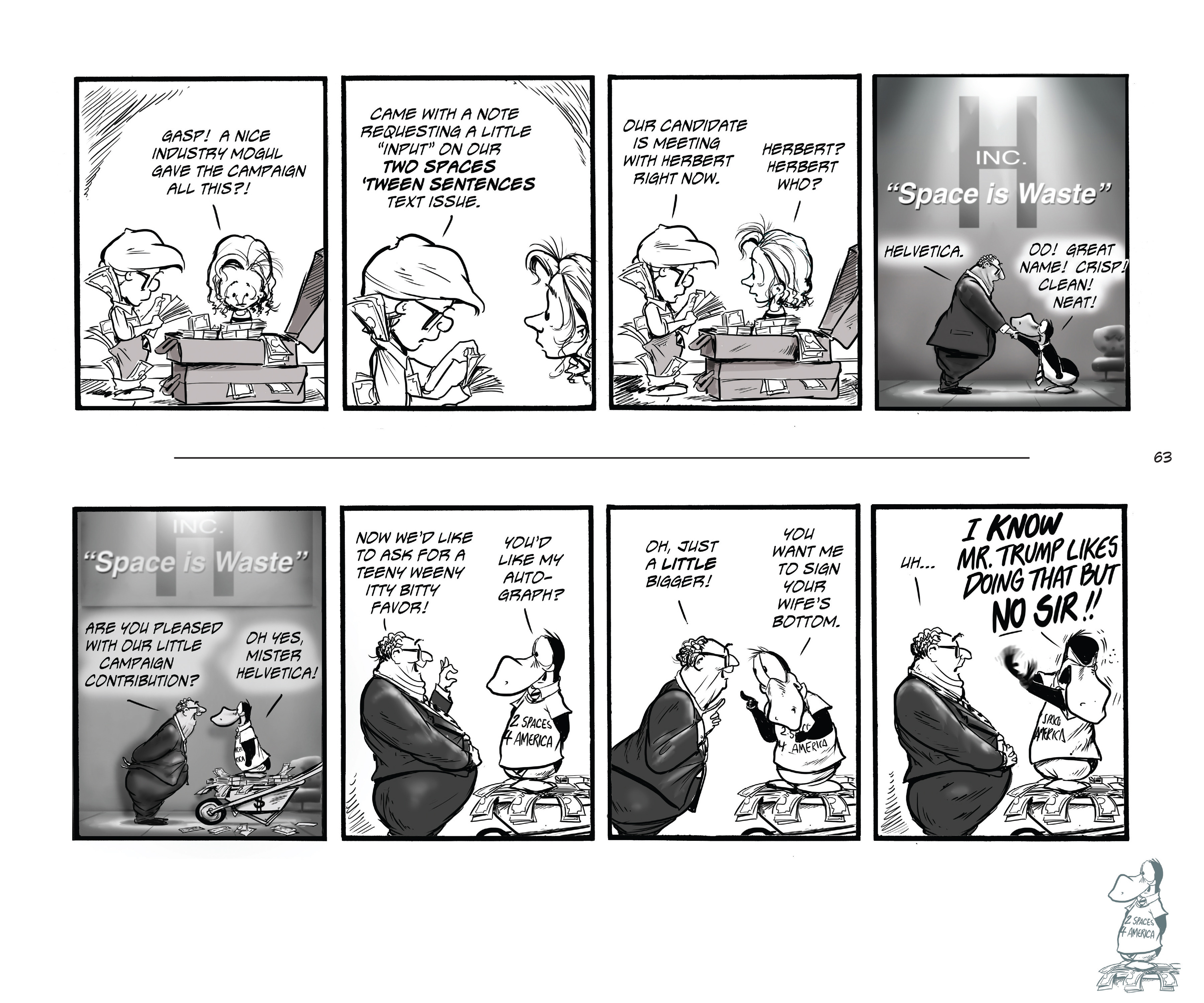 Read online Bloom County Episode XI: A New Hope comic -  Issue # Full - 65