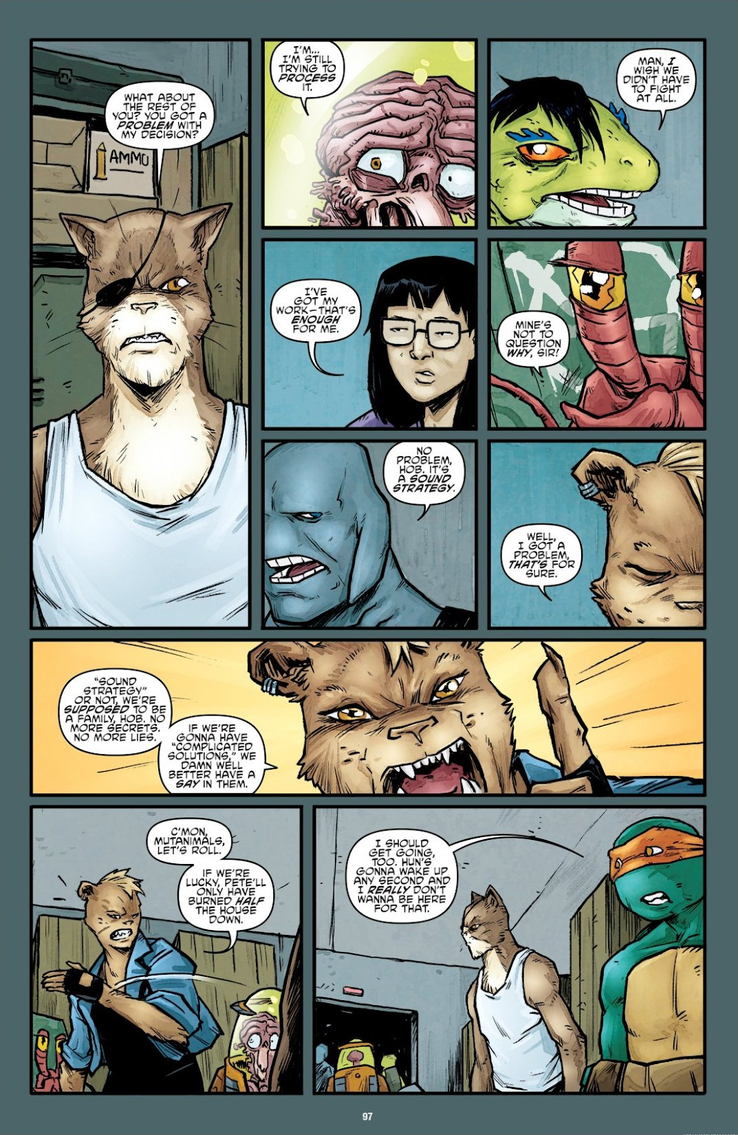 Read online Teenage Mutant Ninja Turtles: The IDW Collection comic -  Issue # TPB 7 (Part 1) - 95