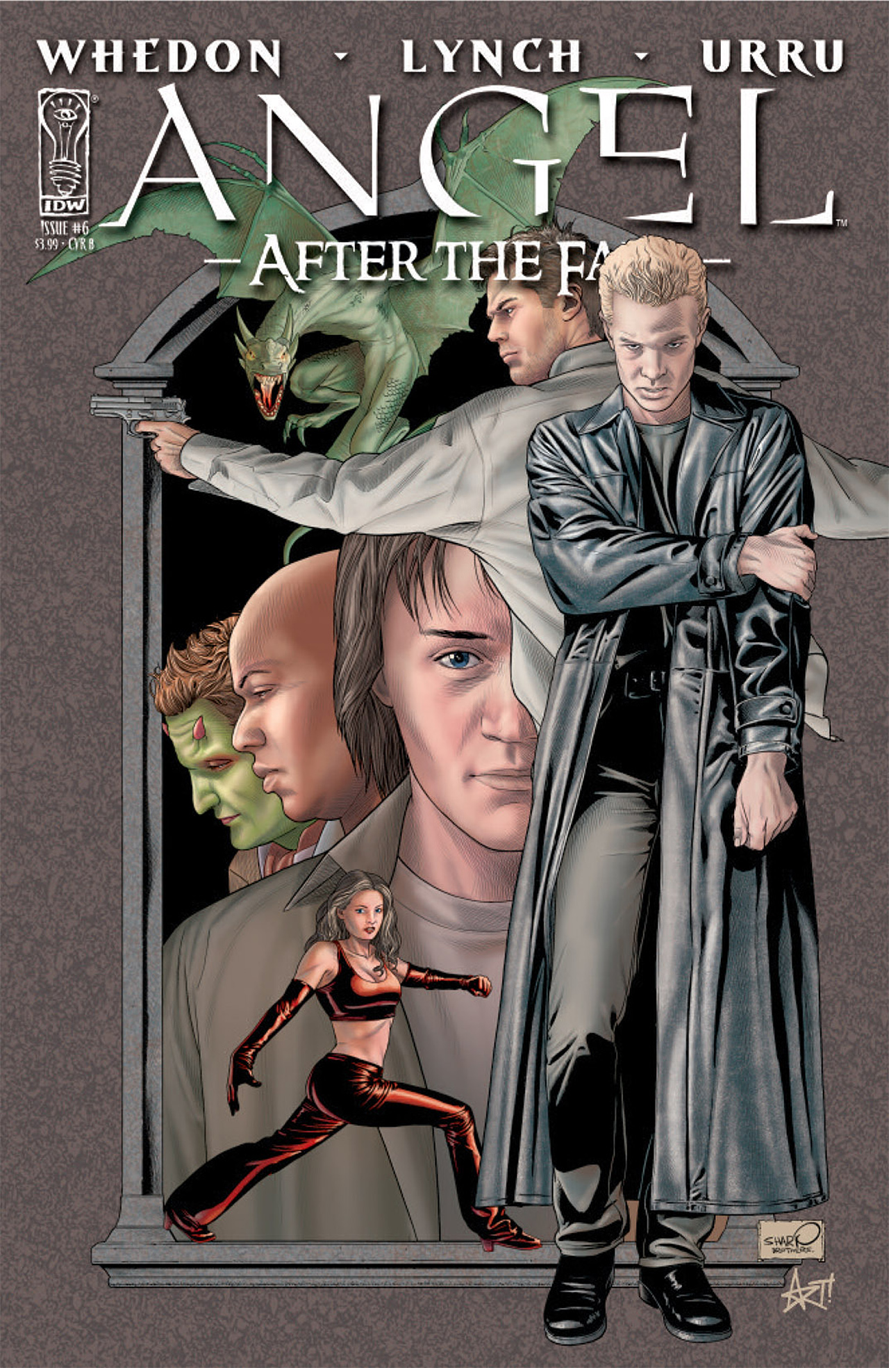 Read online Angel: After The Fall comic -  Issue #6 - 2