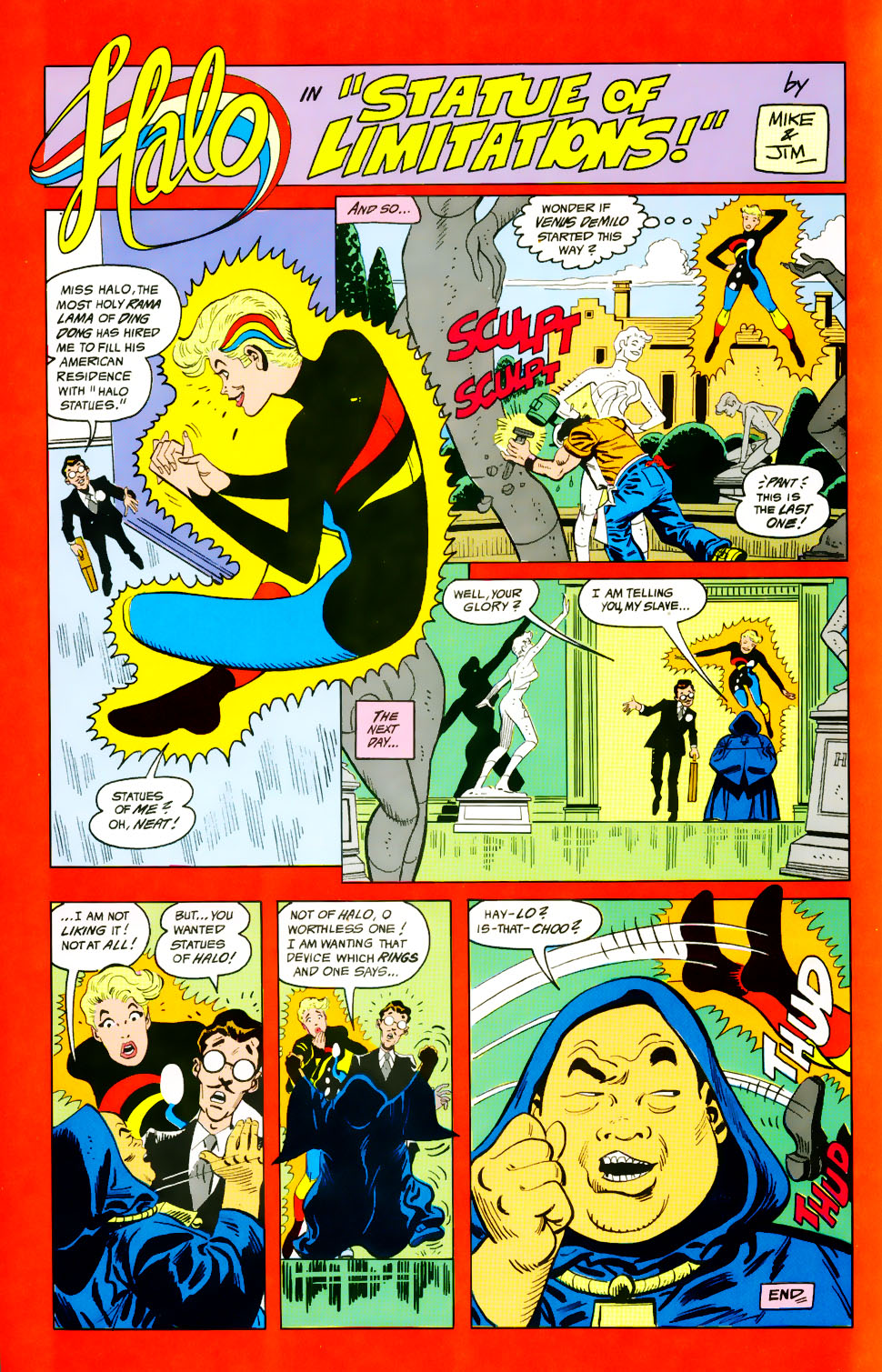 Read online Adventures of the Outsiders comic -  Issue #39 - 33