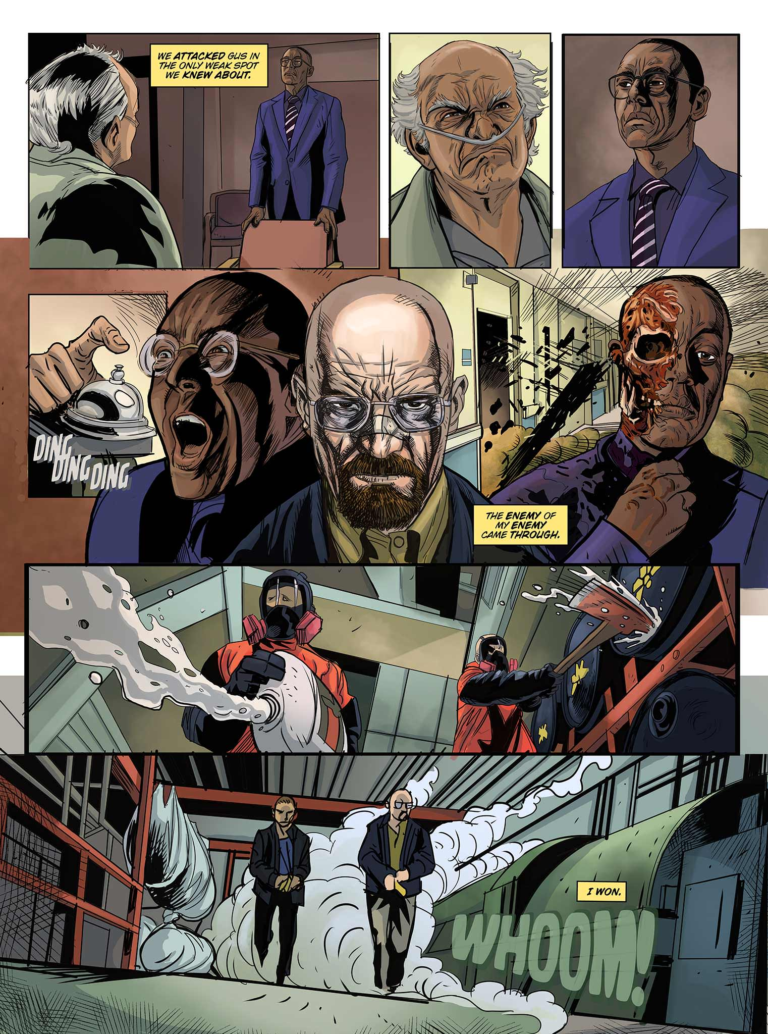 Read online Breaking Bad: All Bad Things comic -  Issue # Full - 17