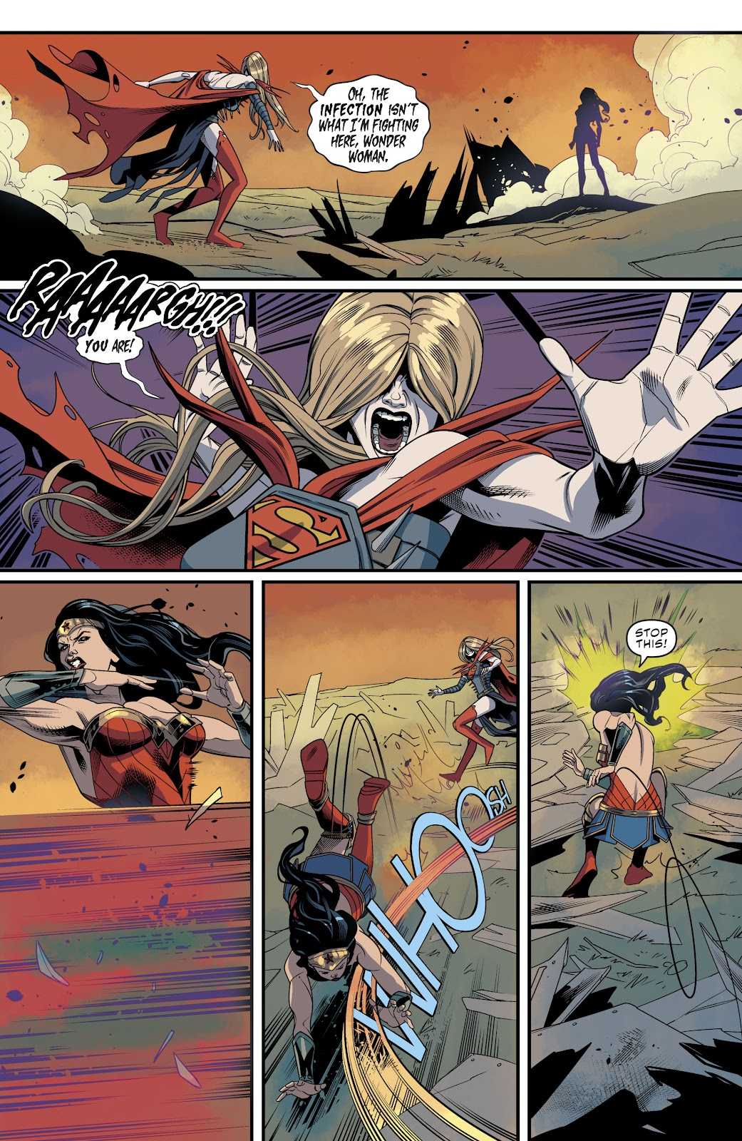 Read online Supergirl (2016) comic -  Issue #40 - 4