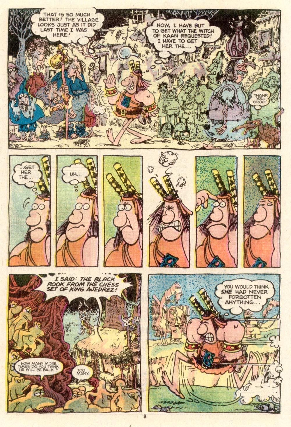 Read online Sergio Aragonés Groo the Wanderer comic -  Issue #24 - 9