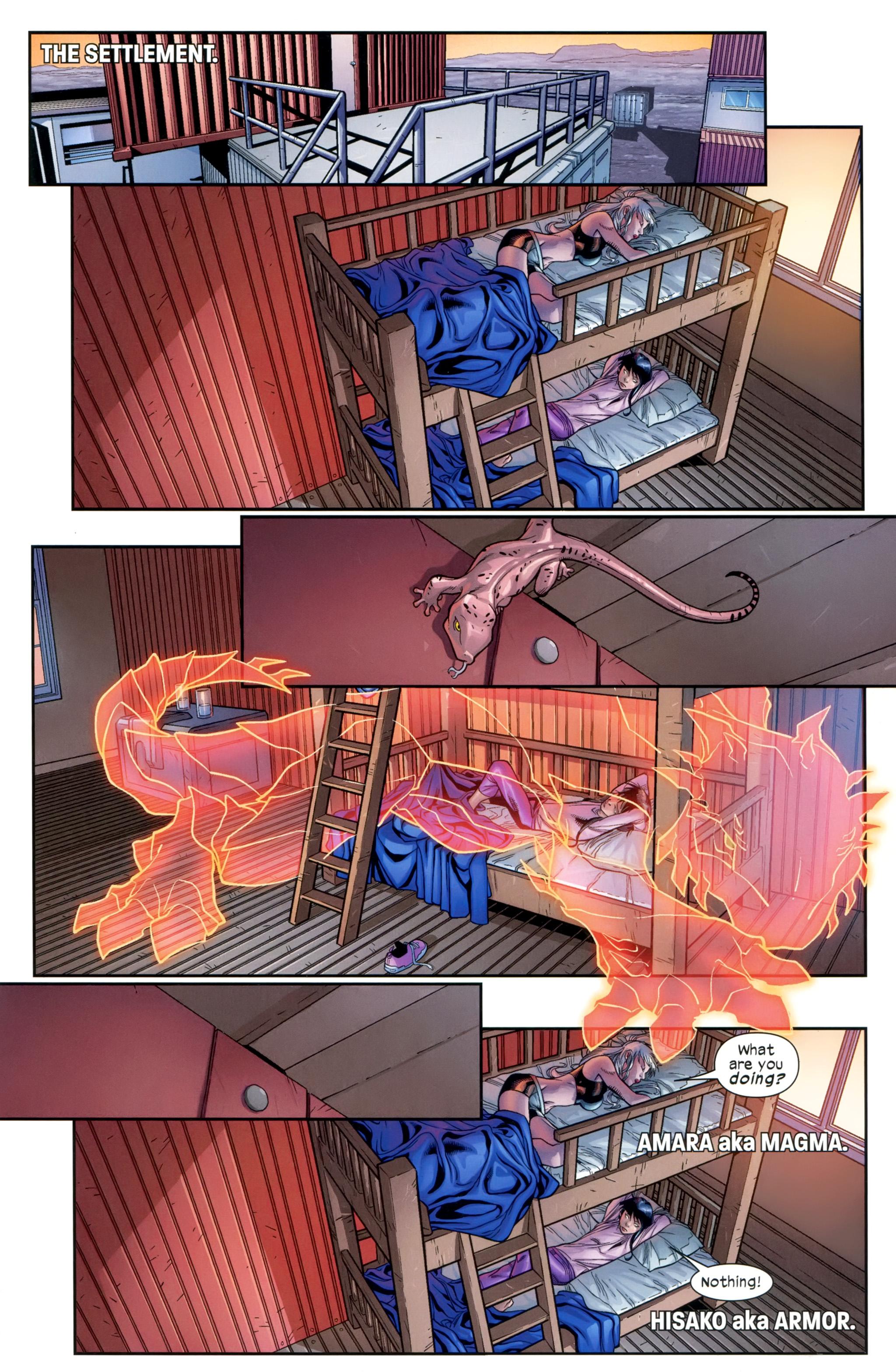 Read online Ultimate Comics X-Men comic -  Issue #20 - 4