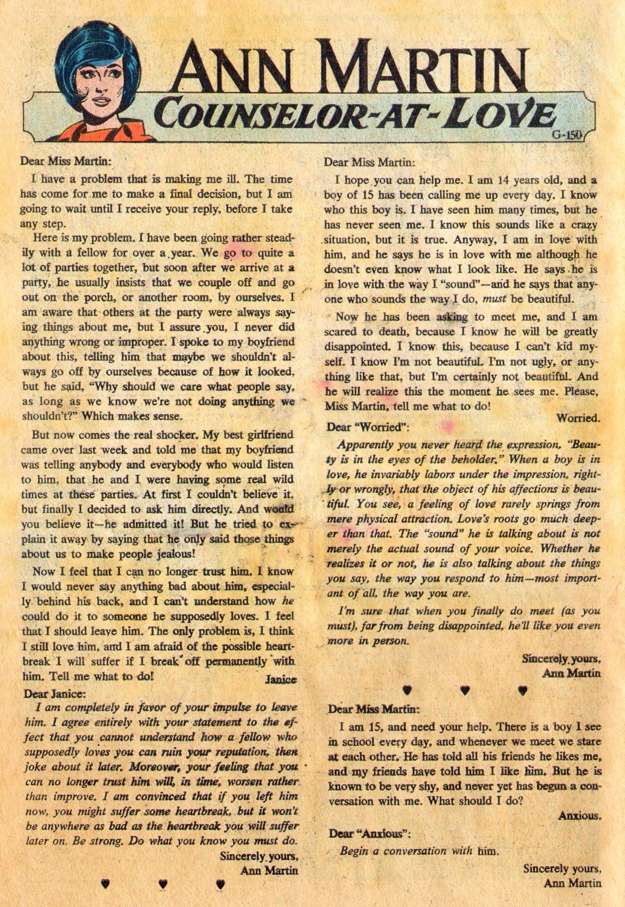 Read online Secret Hearts comic -  Issue #136 - 34