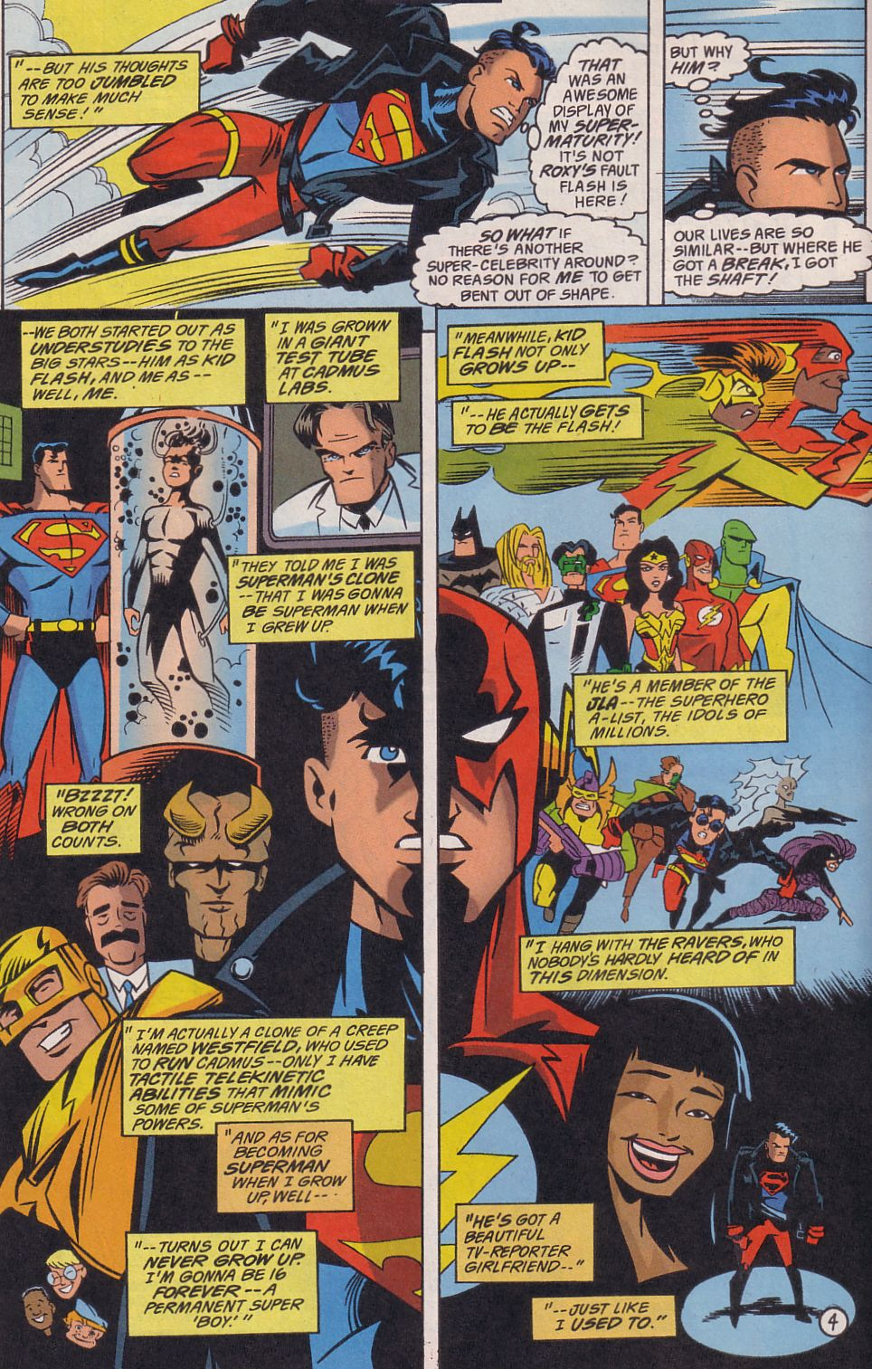 Read online Adventures in the DC Universe comic -  Issue #14 - 5