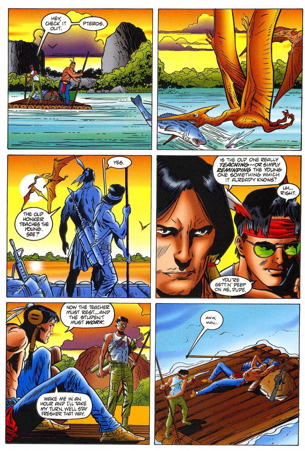 Read online Turok, Dinosaur Hunter (1993) comic -  Issue #45 - 9