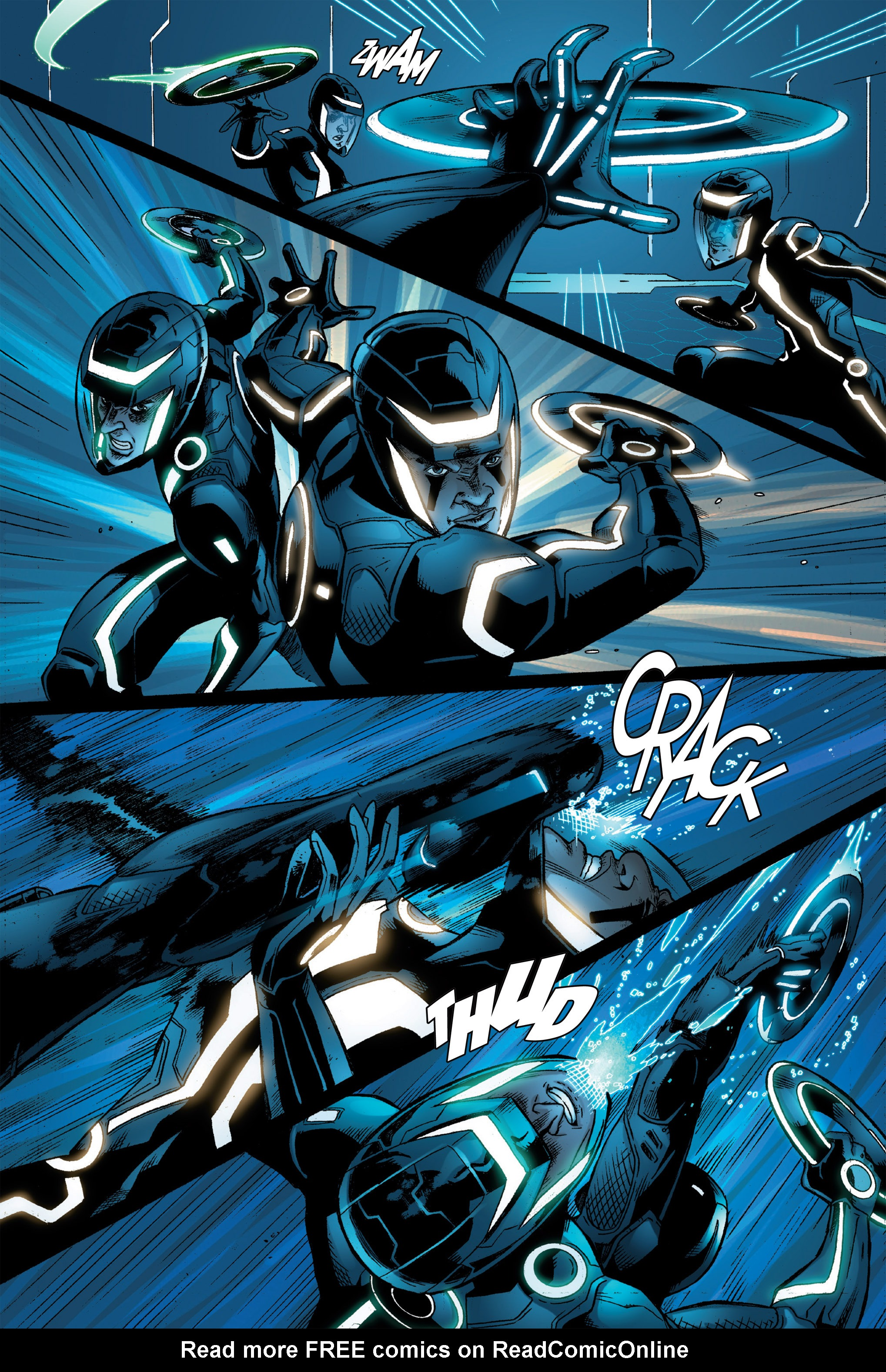 Read online TRON: Betrayal comic -  Issue # TPB - 80