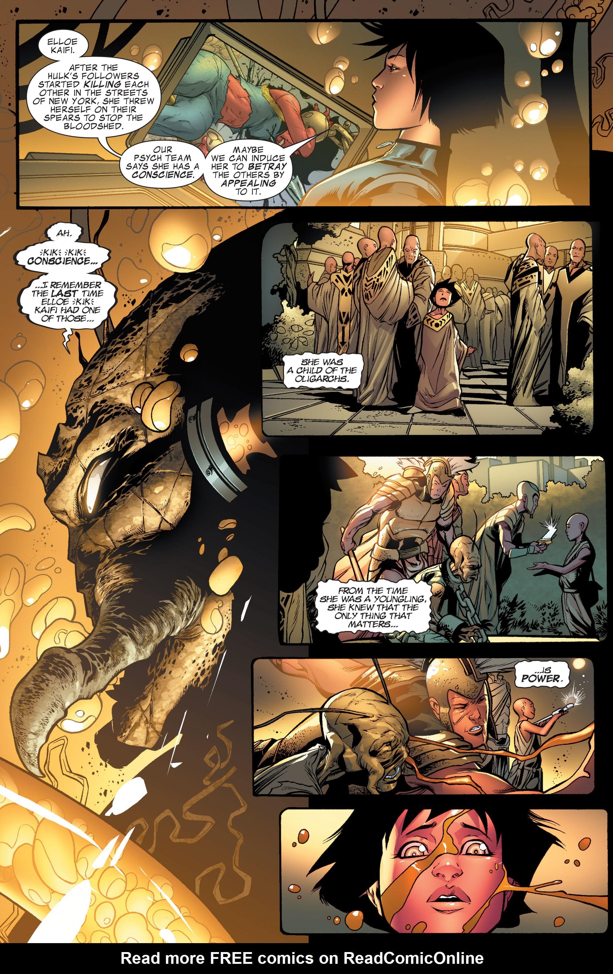Read online World War Hulk Aftersmash: Warbound, Vol. 1 comic -  Issue #1 - 22