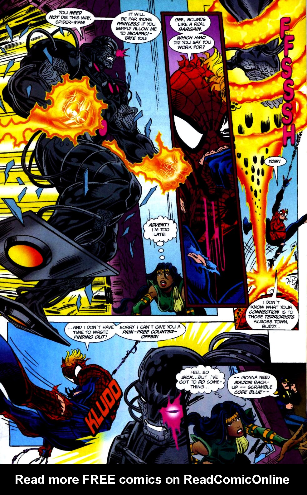 The New Warriors Issue #70 #74 - English 19