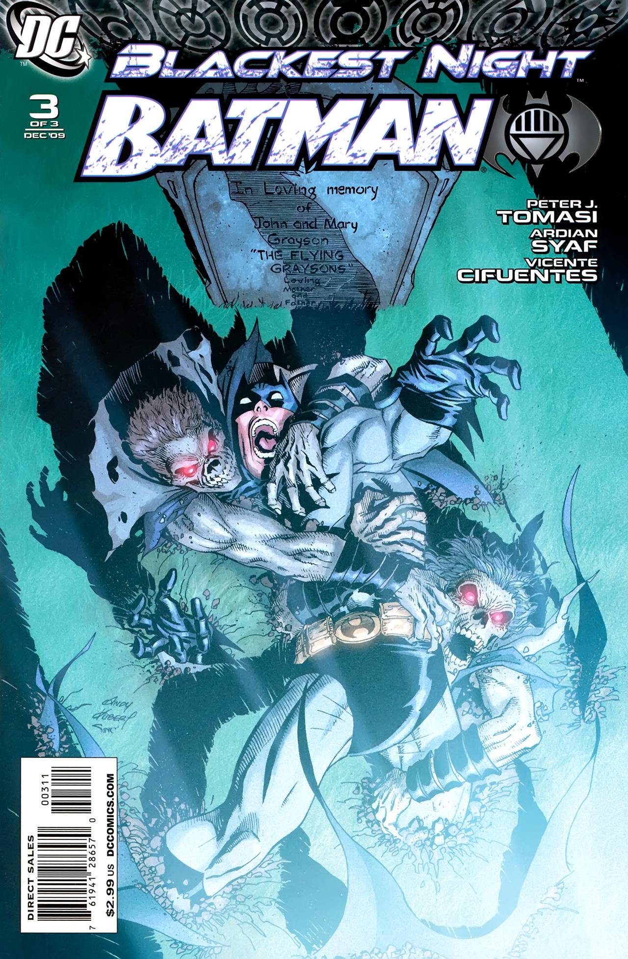 Blackest Night: Batman 3 Page 1