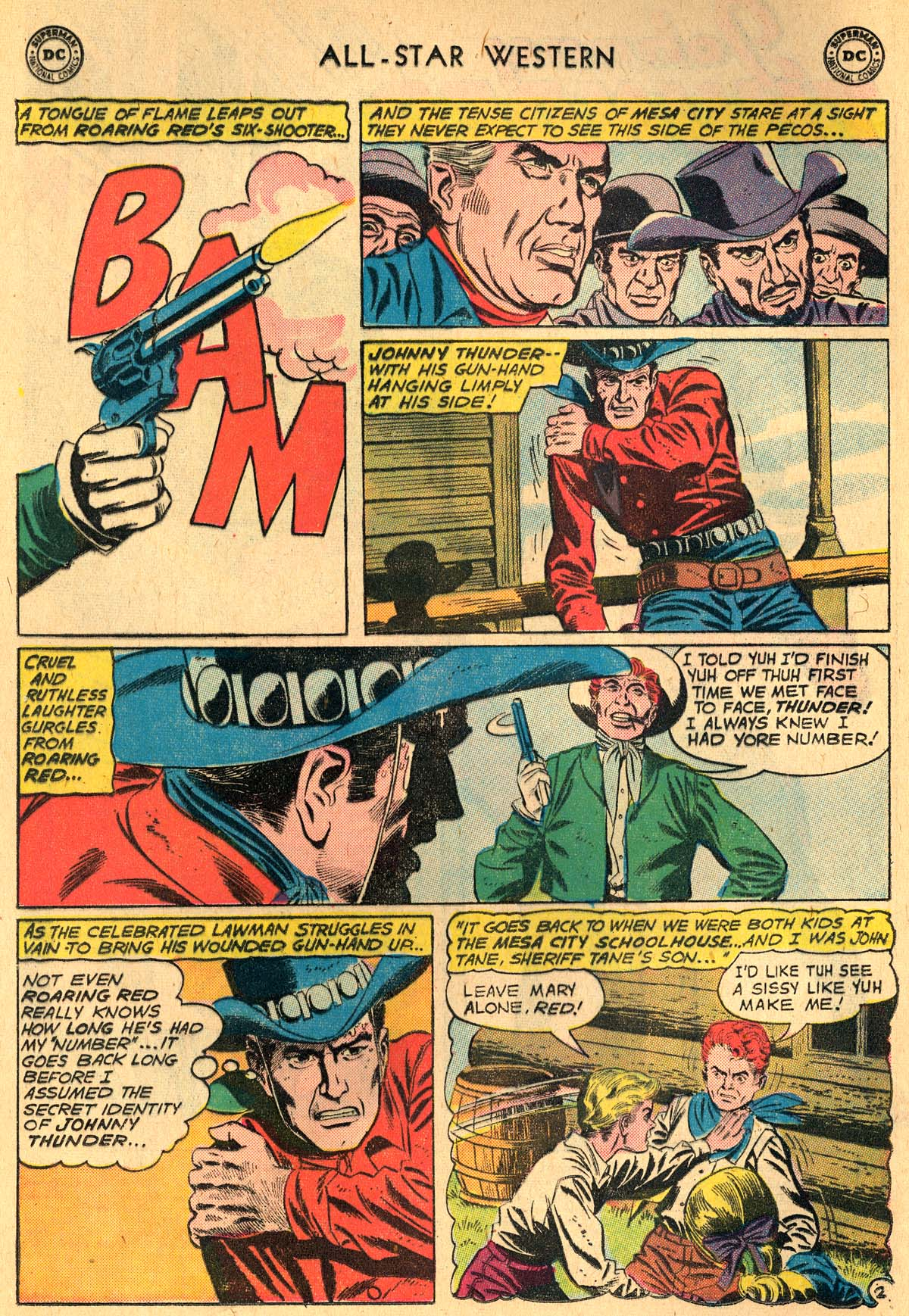 Read online All-Star Western (1951) comic -  Issue #115 - 4