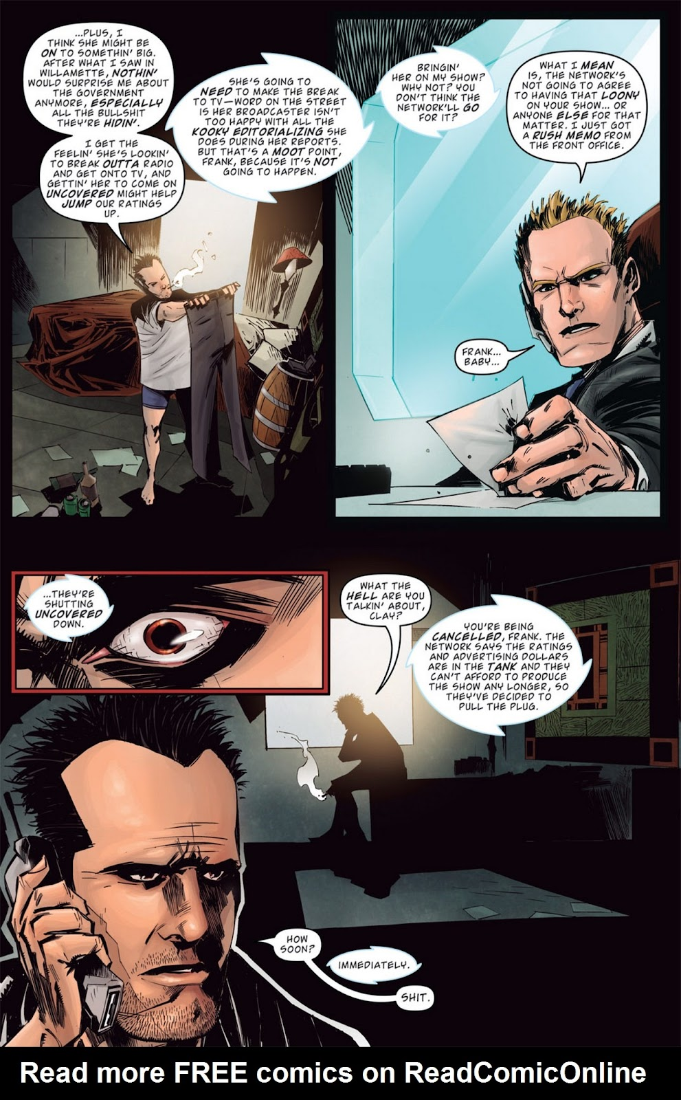 Read online Dead Rising: Road to Fortune comic -  Issue #1 - 19