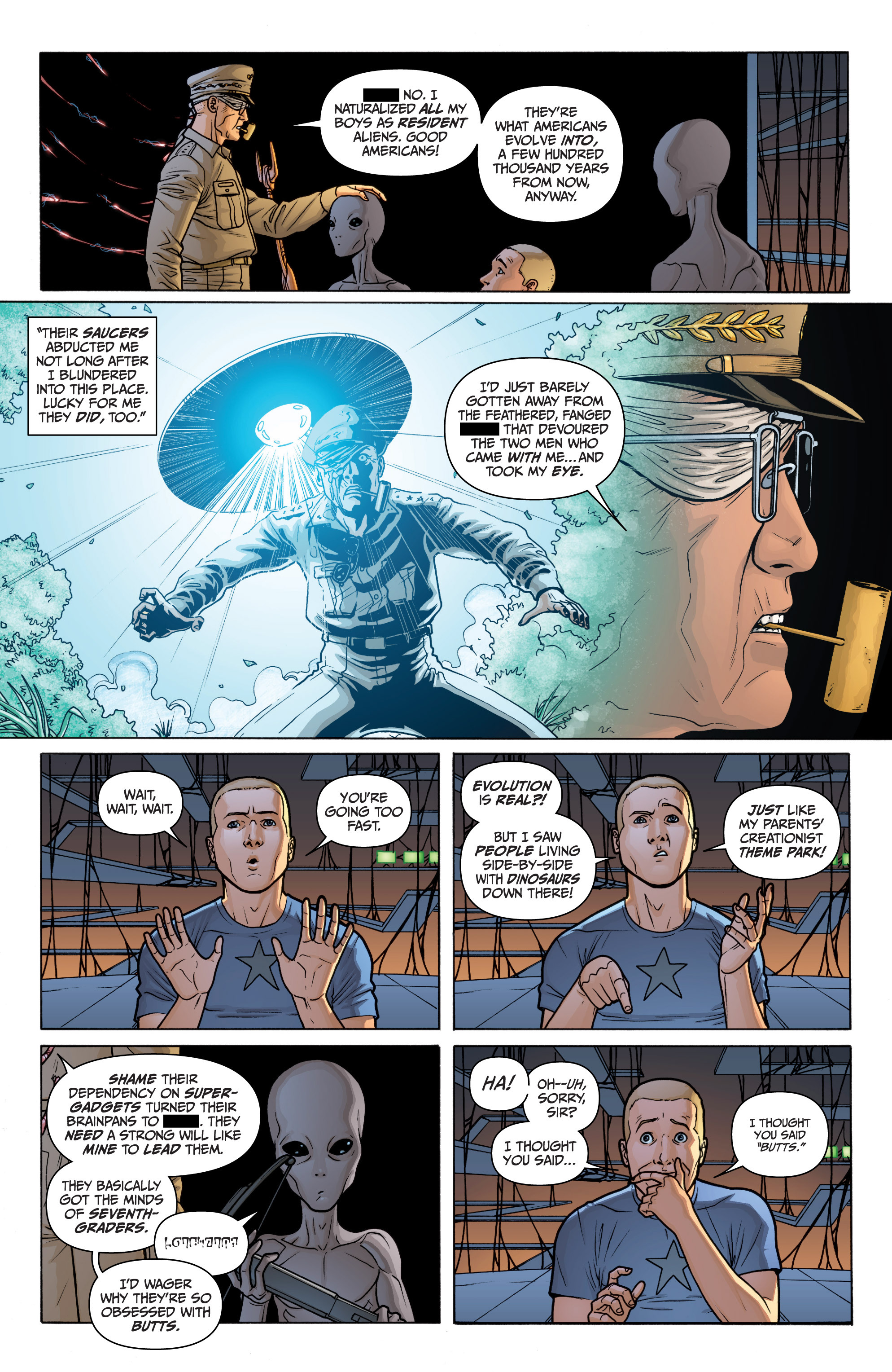 Read online Archer and Armstrong comic -  Issue #11 - 14