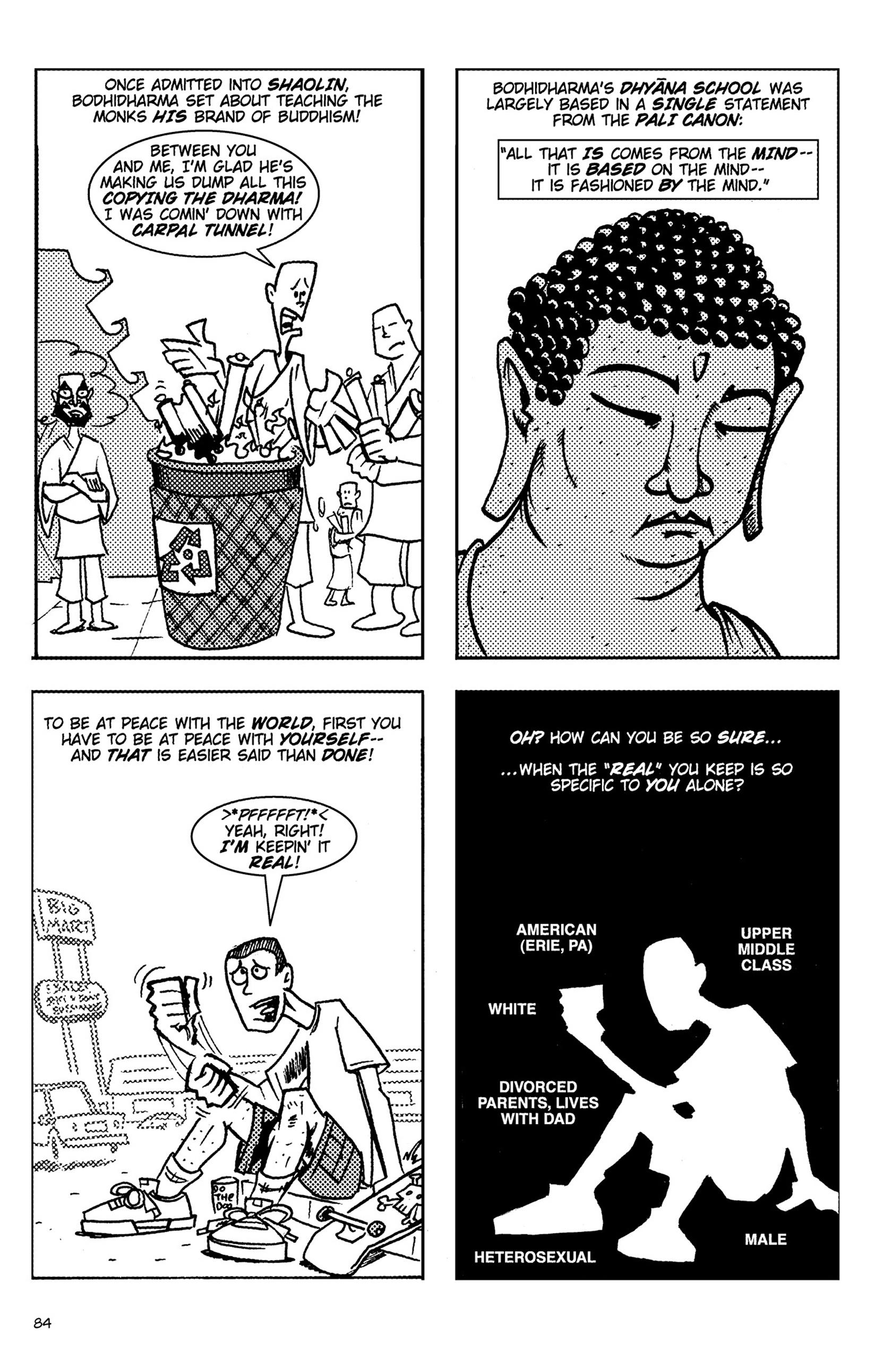 Read online Action Philosophers! comic -  Issue #Action Philosophers! TPB (Part 1) - 84