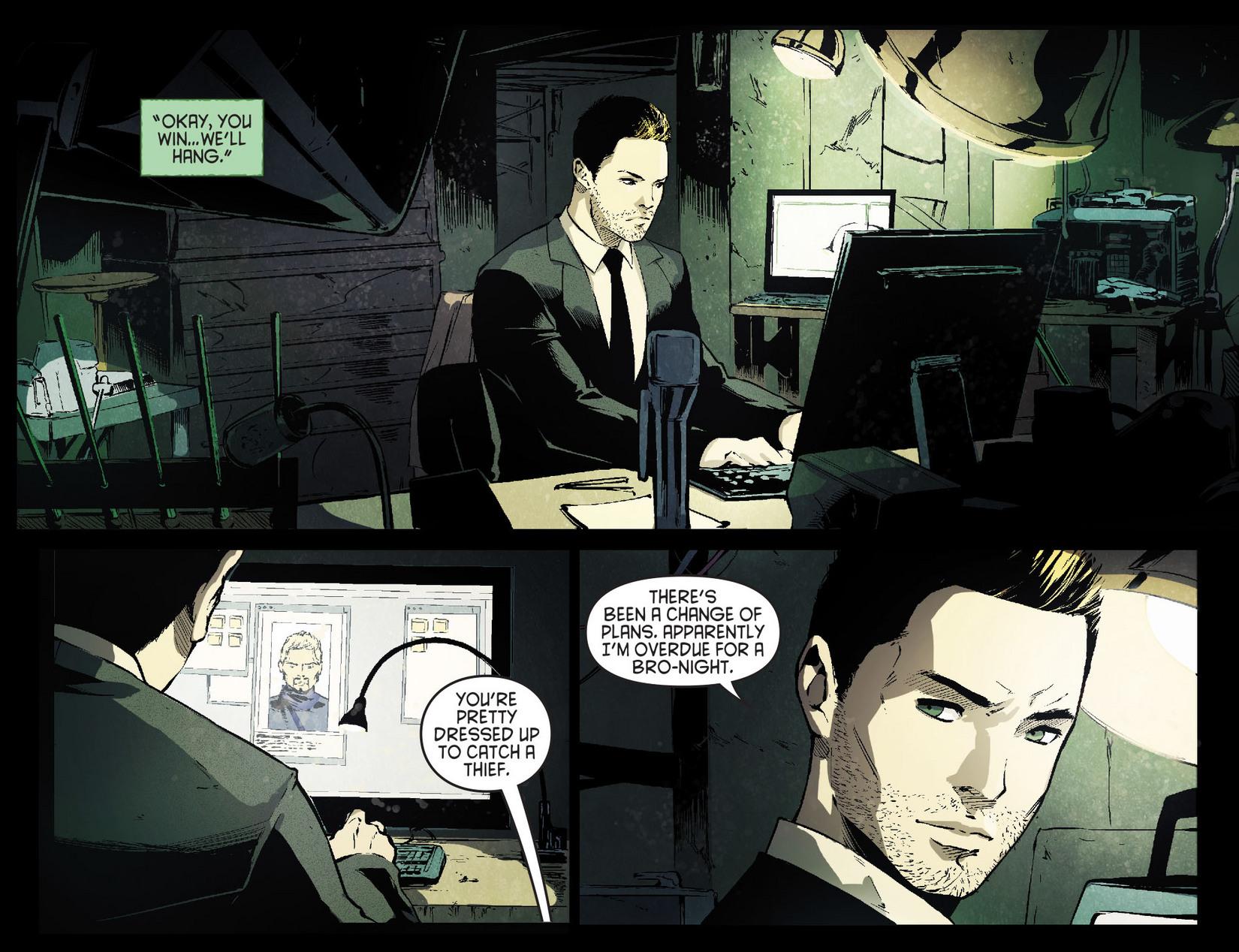 Read online Arrow [II] comic -  Issue #7 - 9