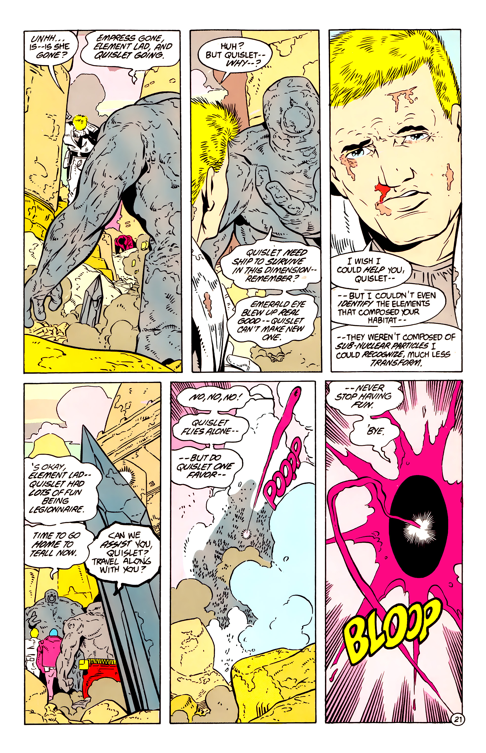 Legion of Super-Heroes (1984) 58 Page 21